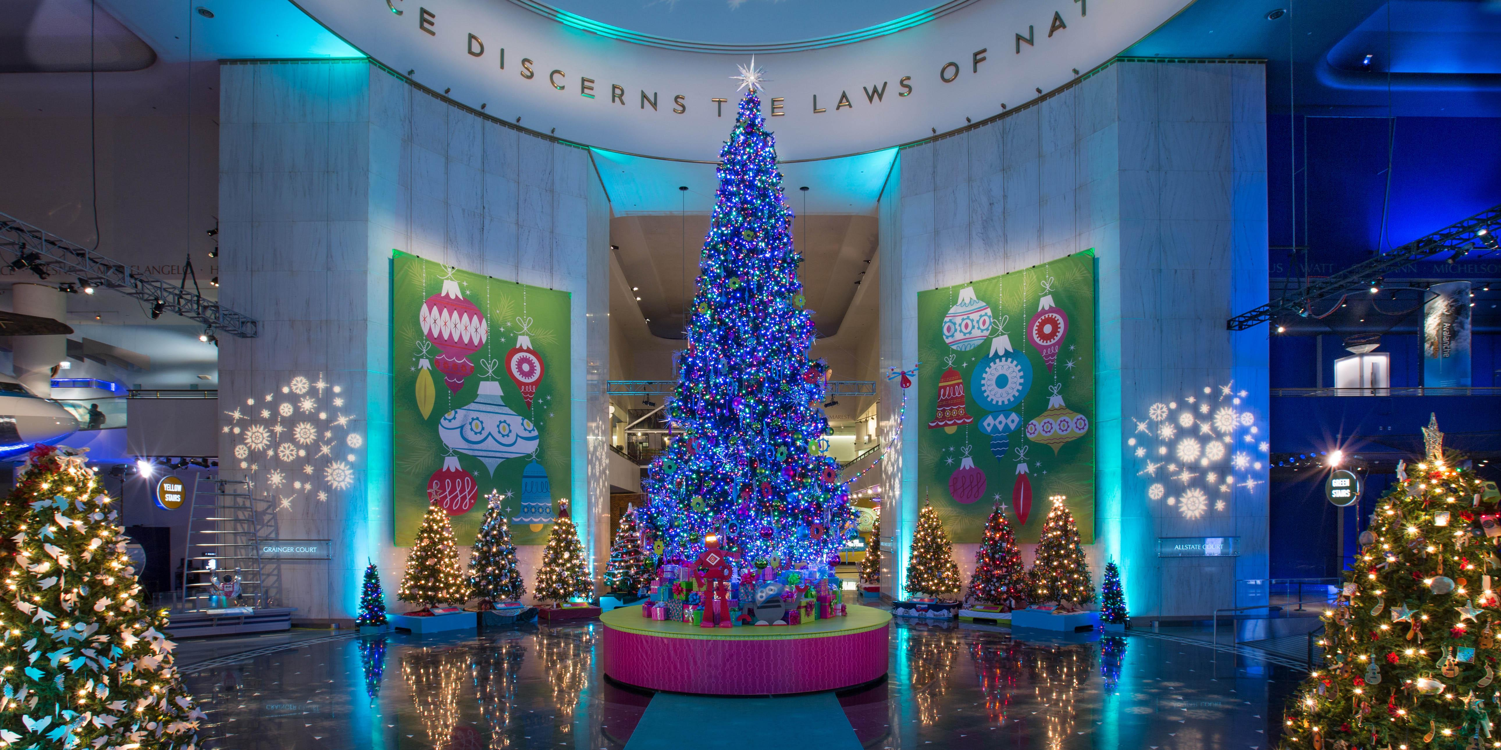 "A scene from the 2015 ""Christmas Around the World"" display. (J.B. Spector / Museum of Science and Industry)"