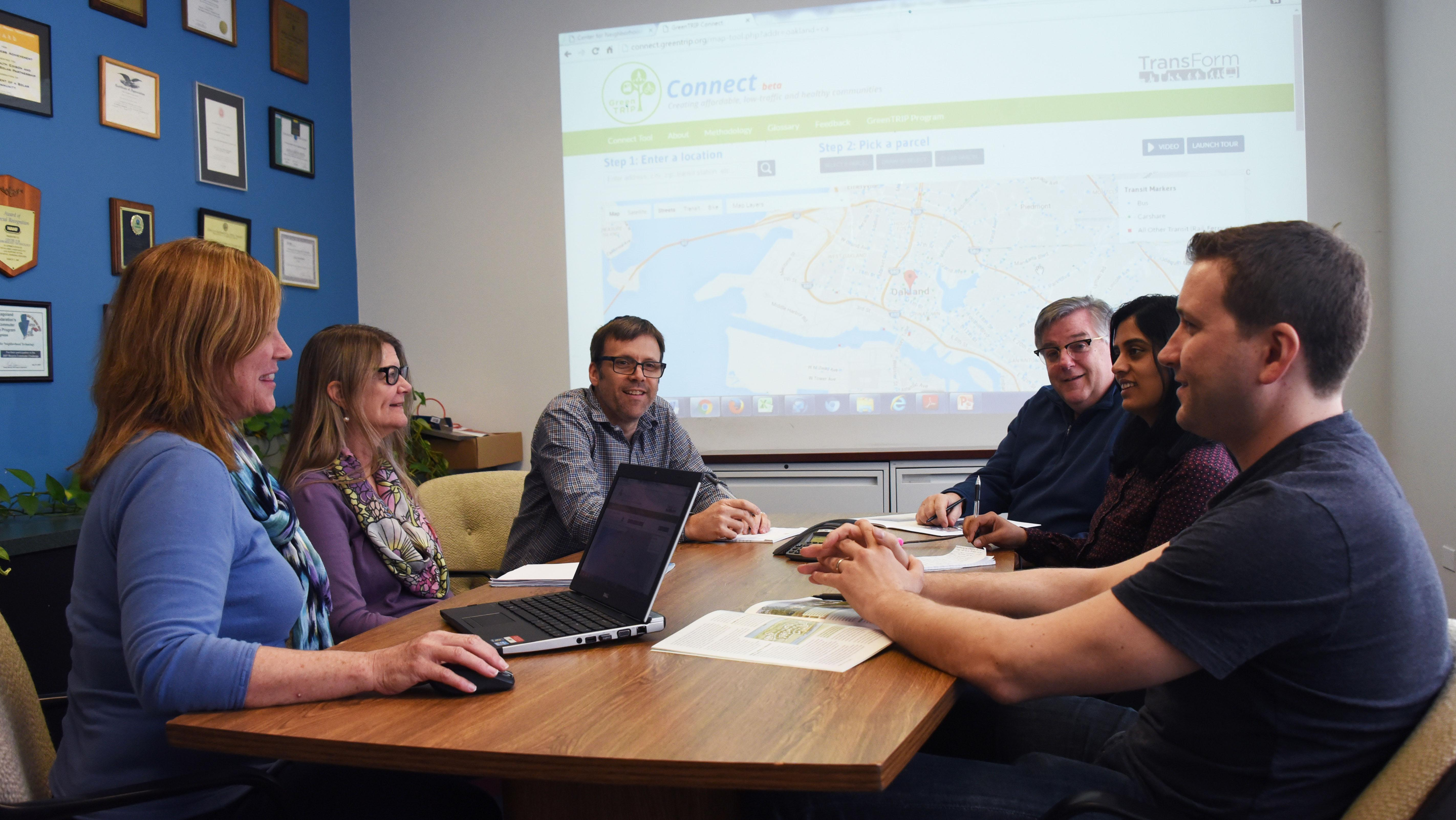 Companies such as the Center for Neighborhood Technology are raising Chicago's profile among global leaders in the technology innovation industry. (Courtesy of Erin Grossi)