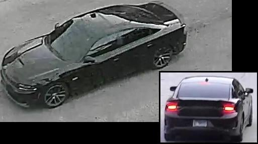 Photos released by the Chicago Police Department of the suspect vehicle in the case. (Chicago Police Department)