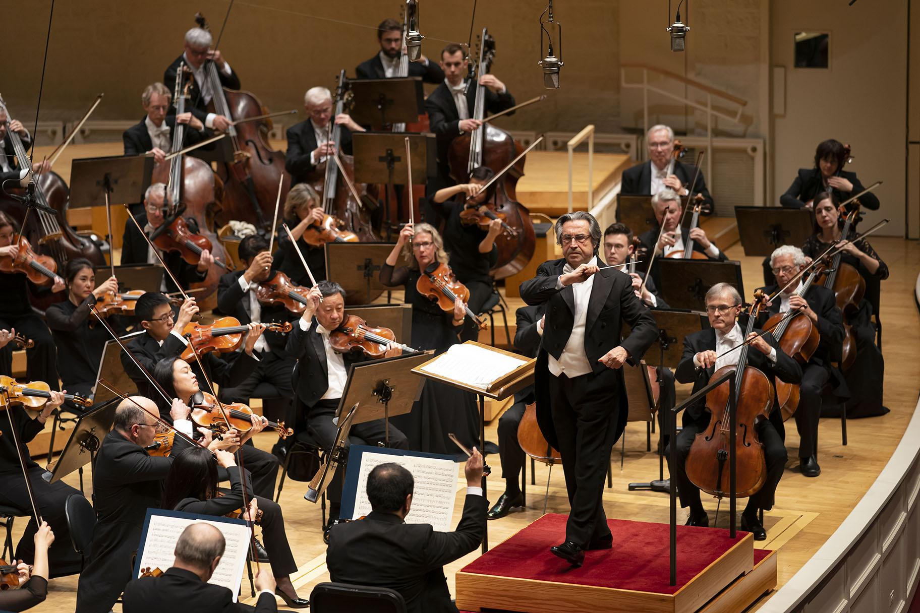 Zell Music Director Riccardo Muti leads the CSO in an all-Beethoven program on Sept. 26, 2019. (Photo by Todd Rosenberg)