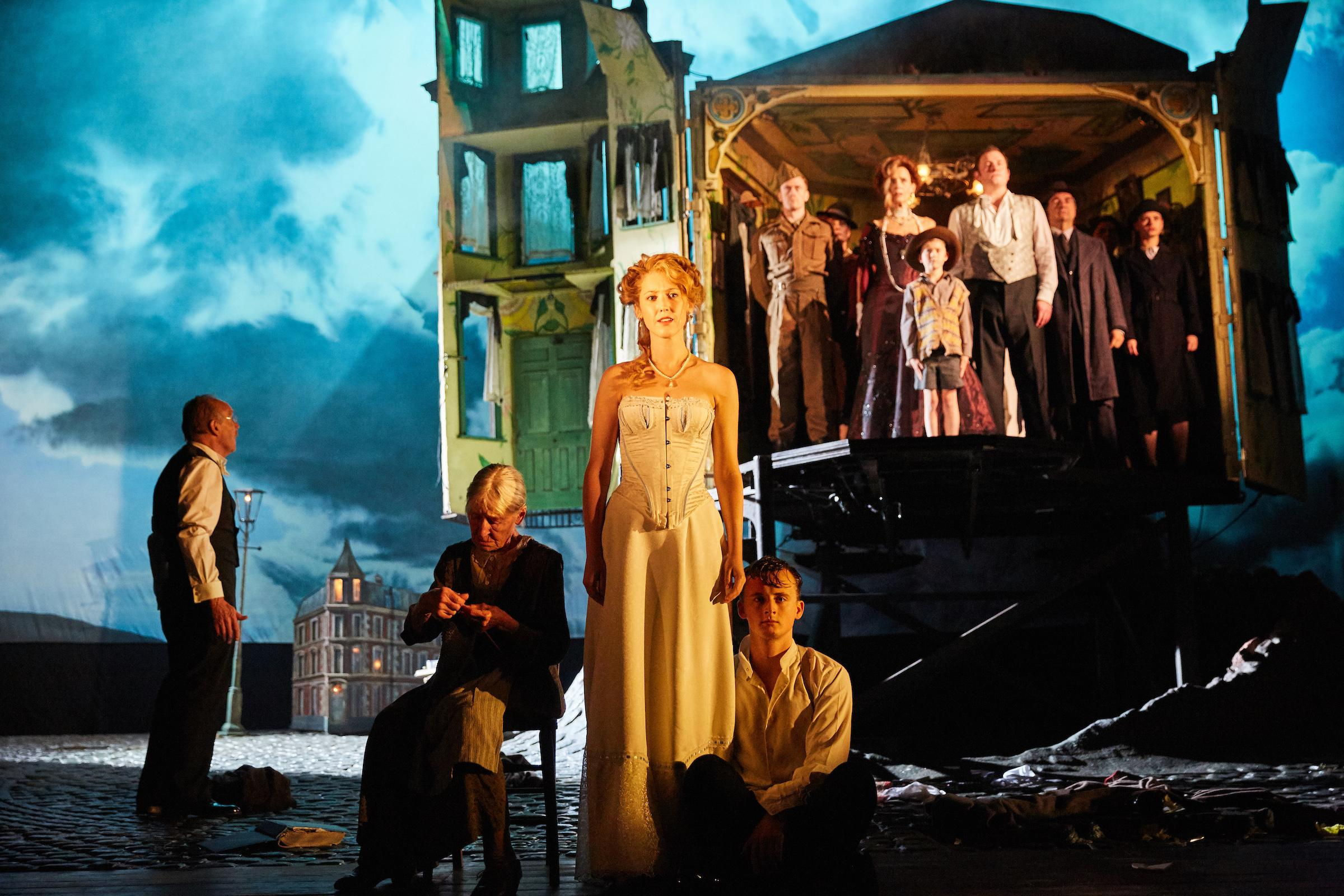"The National Theatre of Great Britain's award-winning production of J.B. Priestley's thriller ""An Inspector Calls."" (Photo by Mark Douet)"