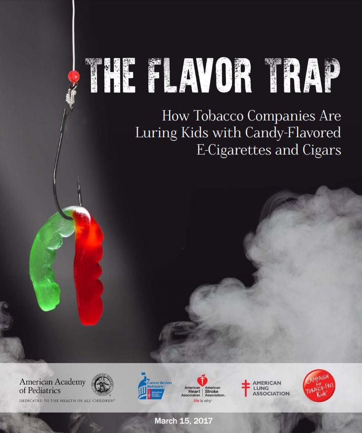 """The Flavor Trap: How Tobacco Companies Are Luring Kids with Candy-Flavored E-Cigarettes and Cigars"""
