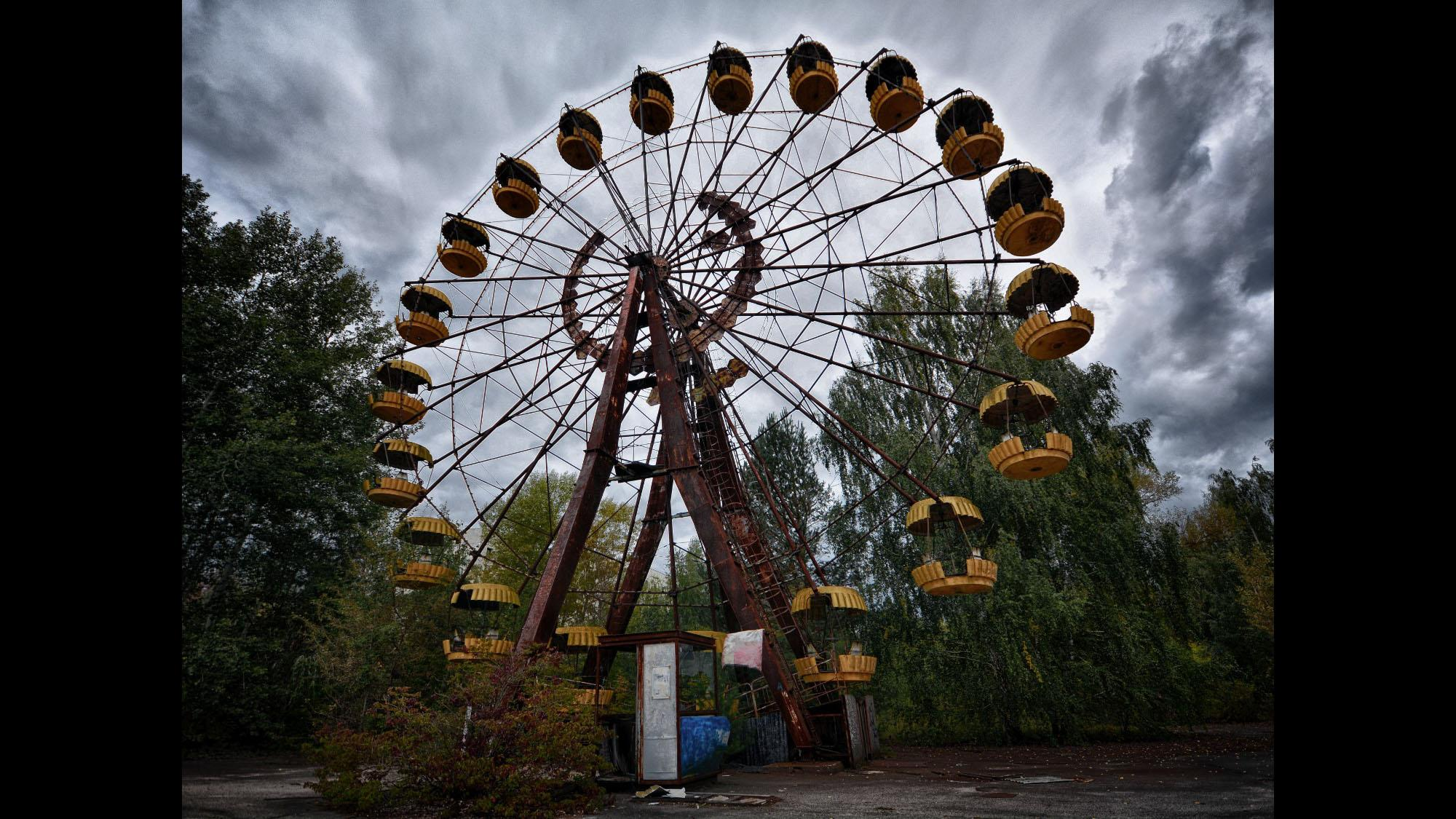 Olejniczak's photographic trips could take him from Saskatchewan to Chernobyl and the ghost town of Pripyat outside the famous nuclear power plant near the Russia-Ukraine border.  (Credit: Jerry Olejniczak)