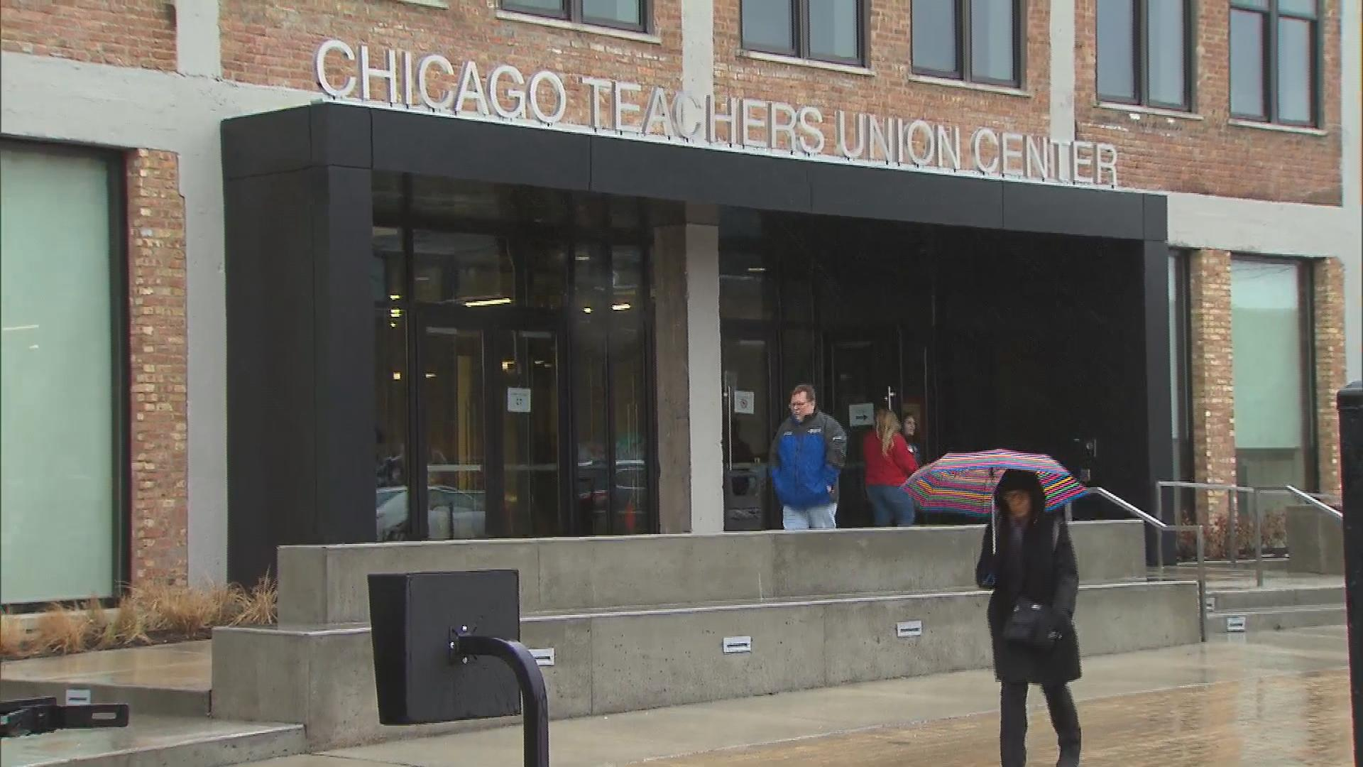 Chicago Teachers Union members are expected to vote on a potential merger with ChiACTS sometime this fall. (Chicago Tonight)