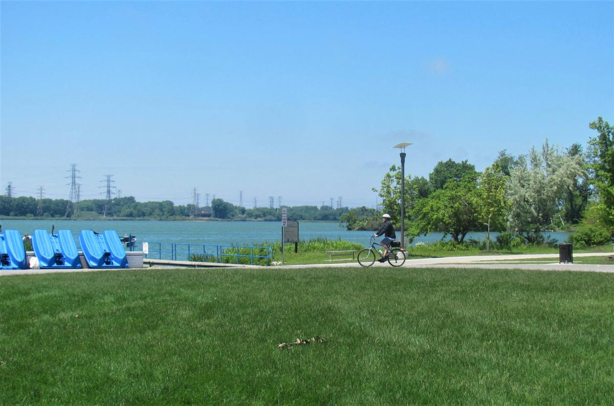 Wolf Lake Memorial Park (Courtesy Openlands)