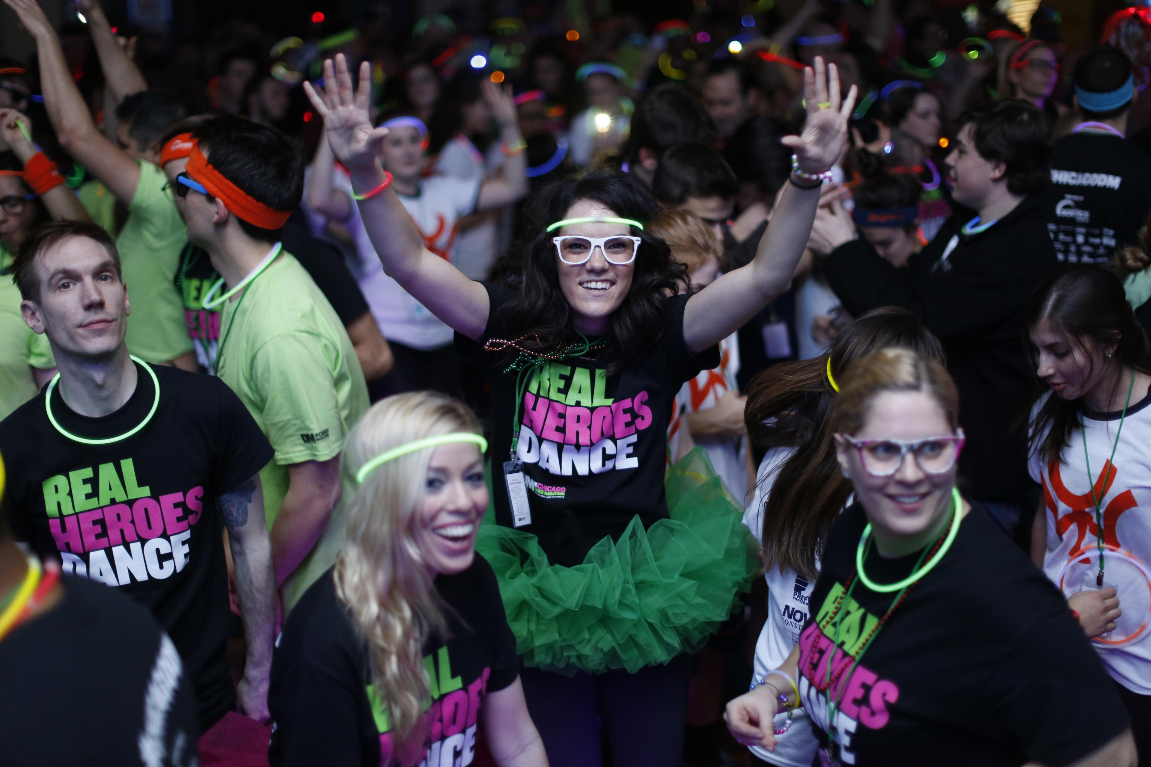 The Chicago Dance Marathon has raised more than $2 million for patients of the Ann & Robert H. Lurie Children's Hospital of Chicago. (Courtesy of Lurie Children's Foundation)