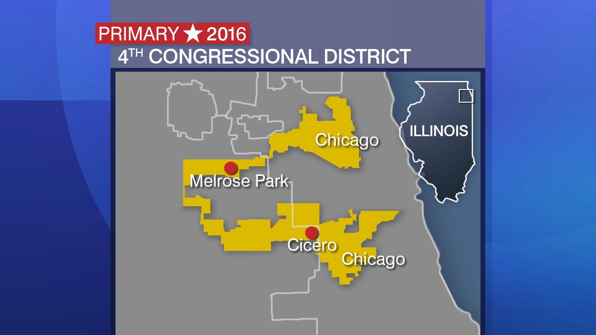 illinois th congressional district candidates chicago tonight map of illinois us representative districts