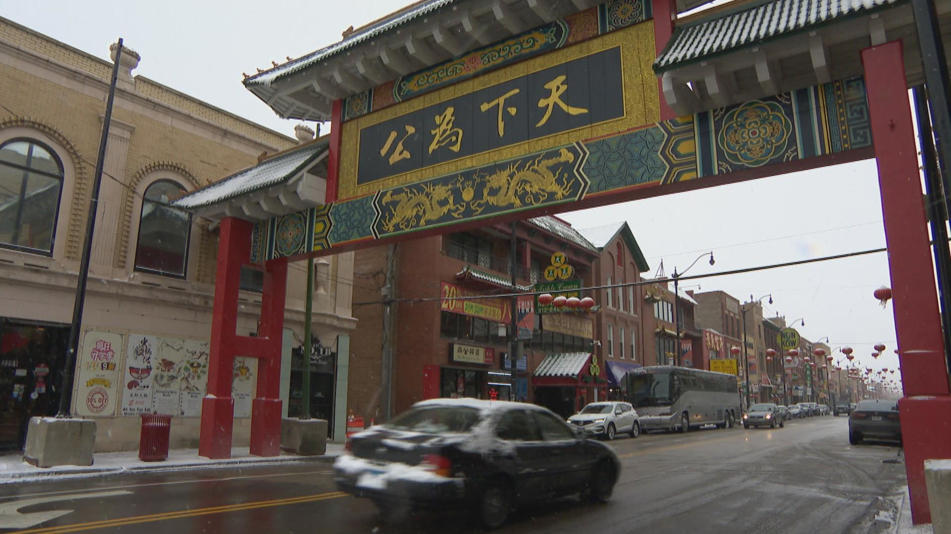 Chicago's Chinatown neighborhood has been struggling economically since the virus started making headlines. (WTTW News)