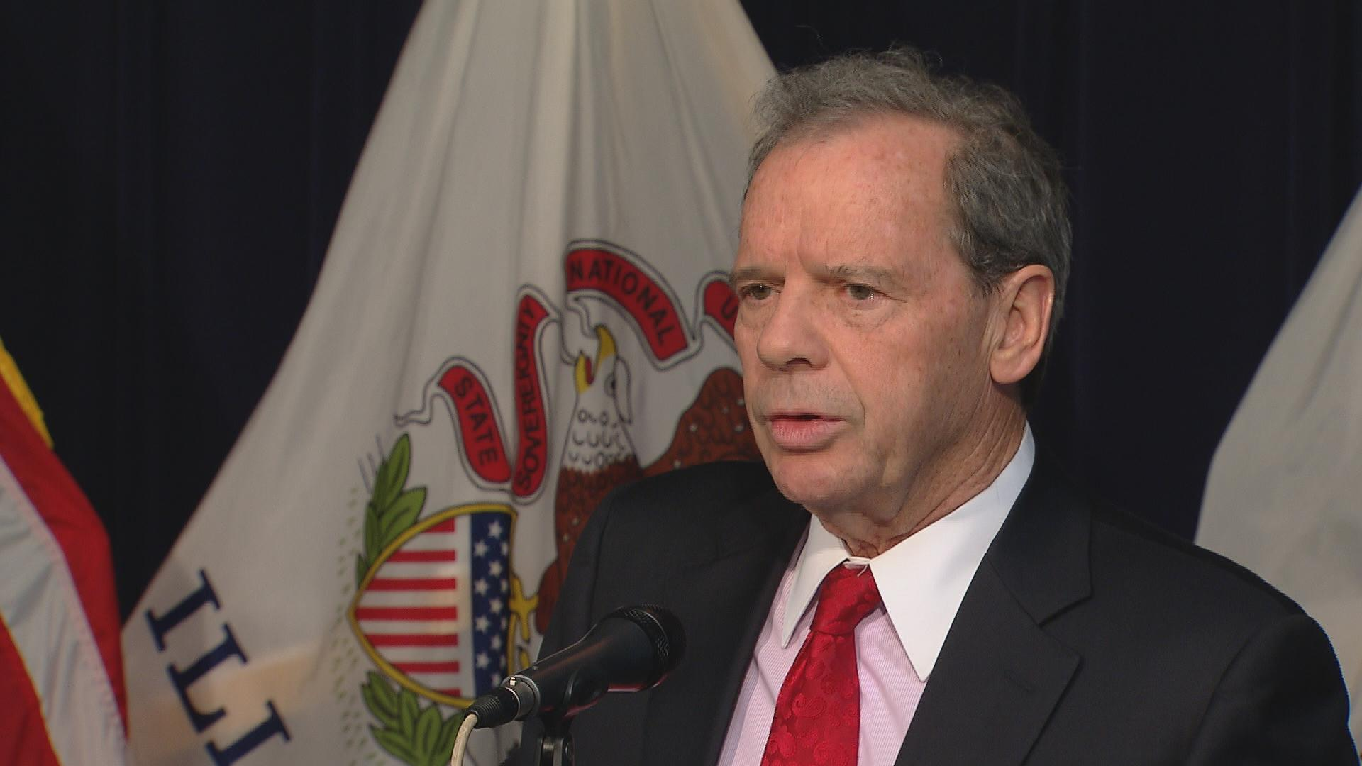 """I want to work with this governor, but that requires him to start working and stop campaigning,"" said Senate President John Cullerton on Wednesday. ""It's time for him to put down the keys to the campaign bus and join us in honest negotiation."""
