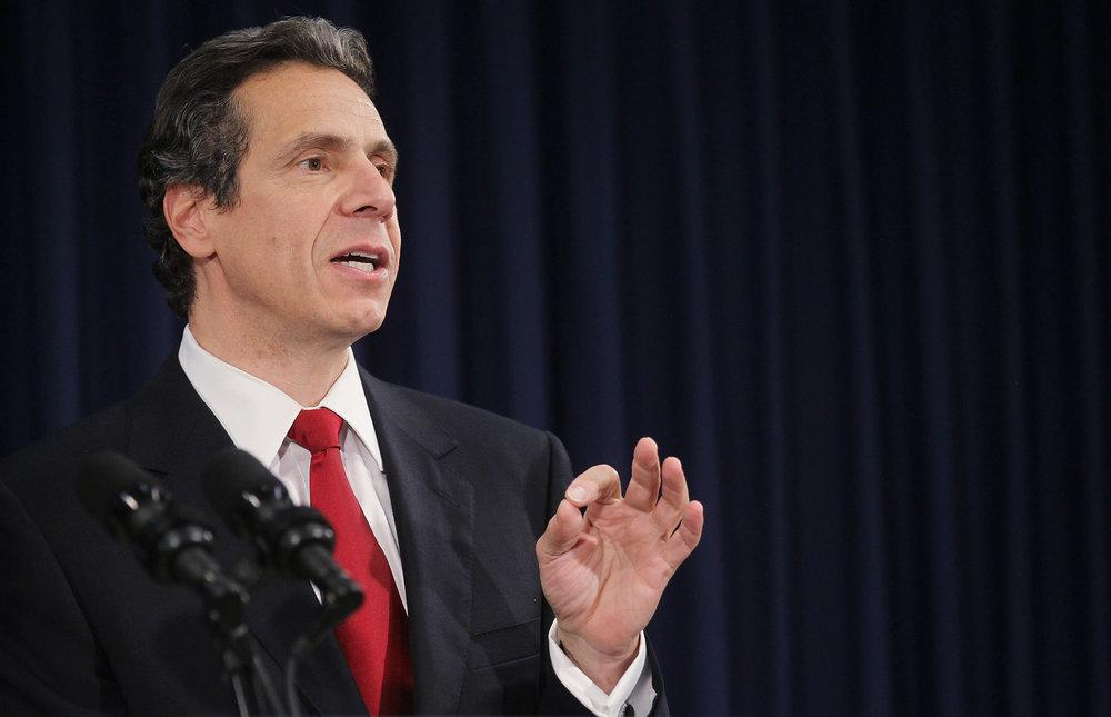 New York Gov. Andrew Cuomo is among 14 governors who have committed their states to meeting goals set in the Paris climate agreement. (Courtesy U.S. Climate Alliance)