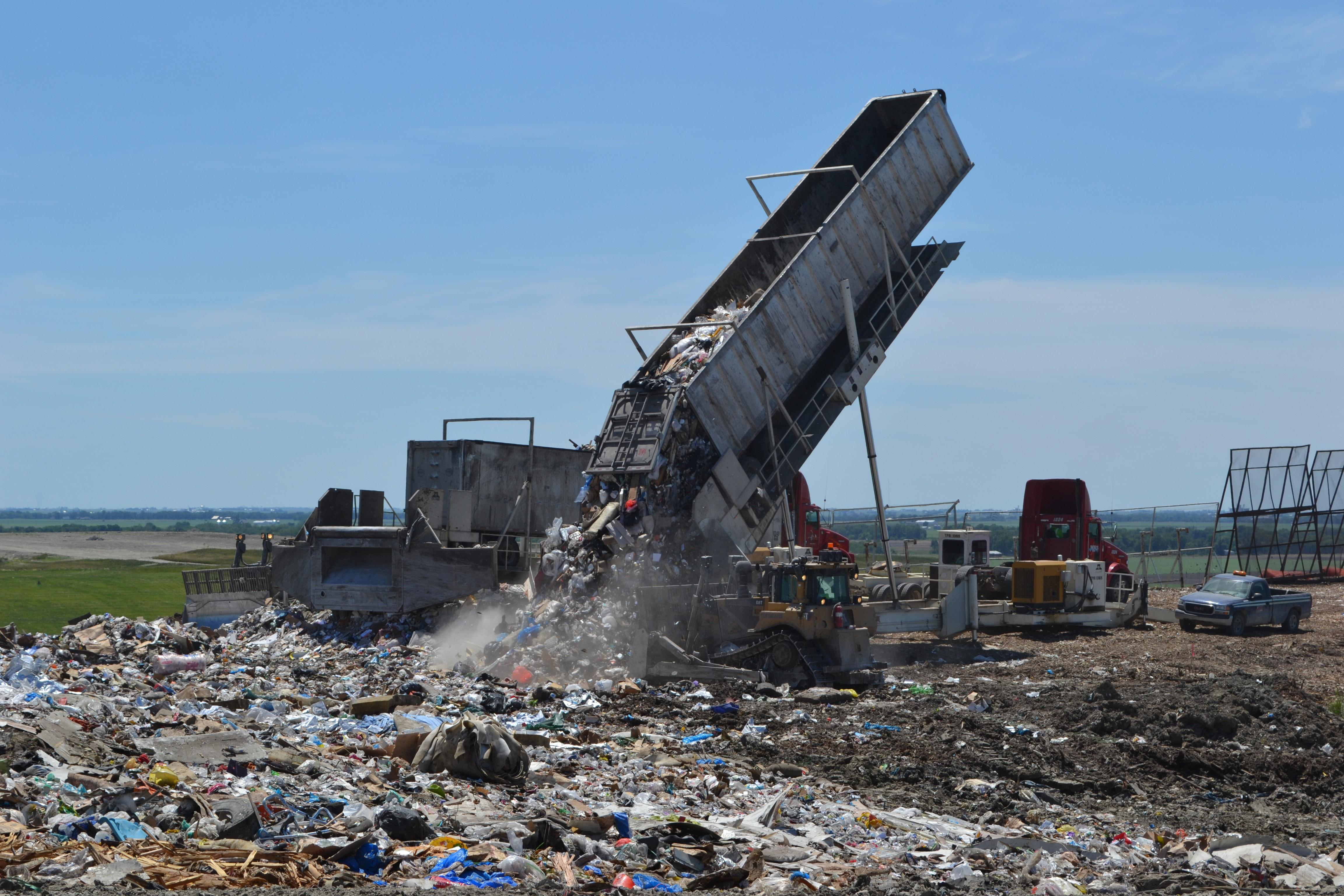 Bill Janes can tell you with surprising accuracy where your trash was dumped at his landfill.