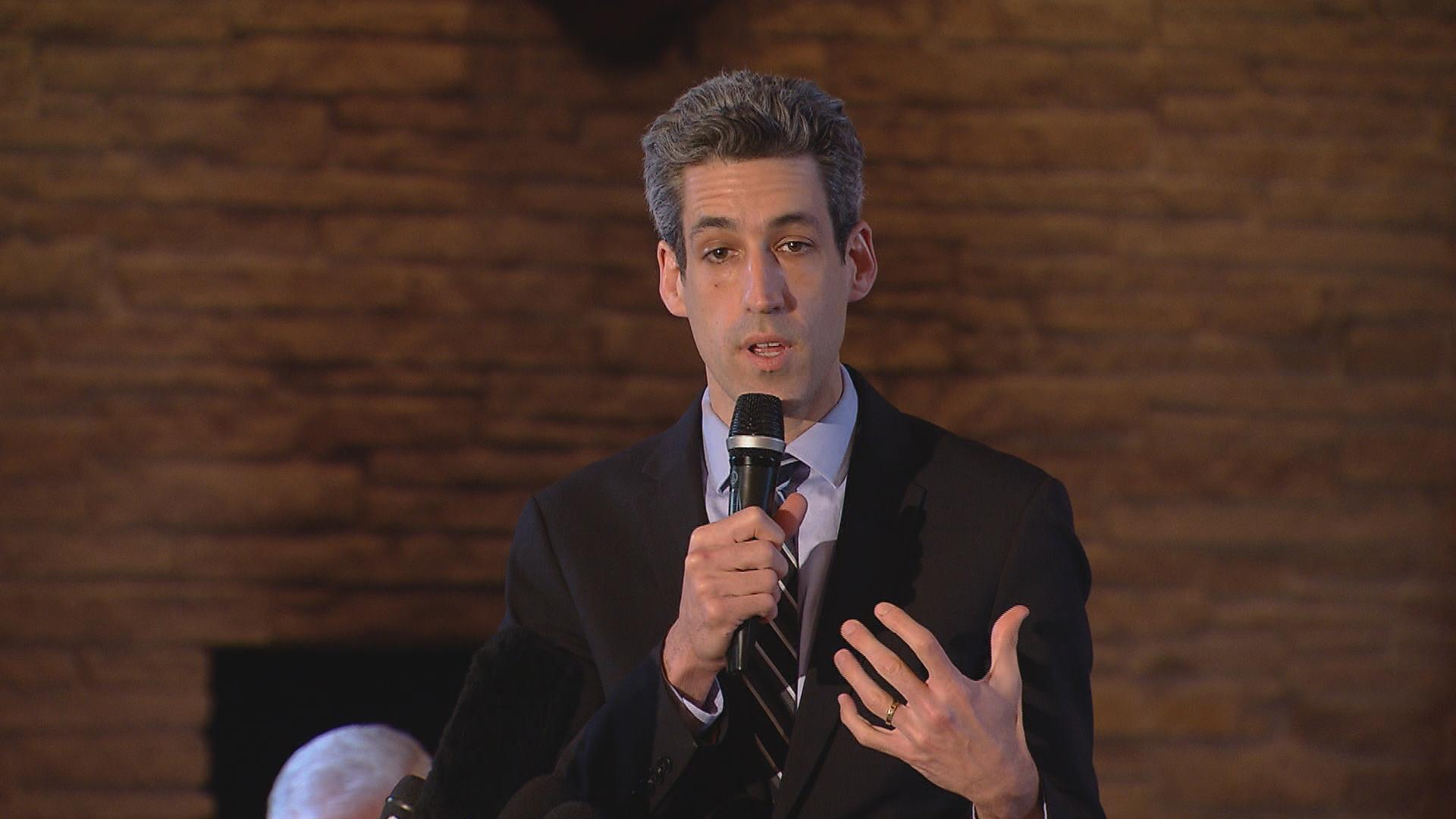 State Sen. Daniel Biss introduced the Illinois Baseline Protection Act in June 2017. (Chicago Tonight file photo)