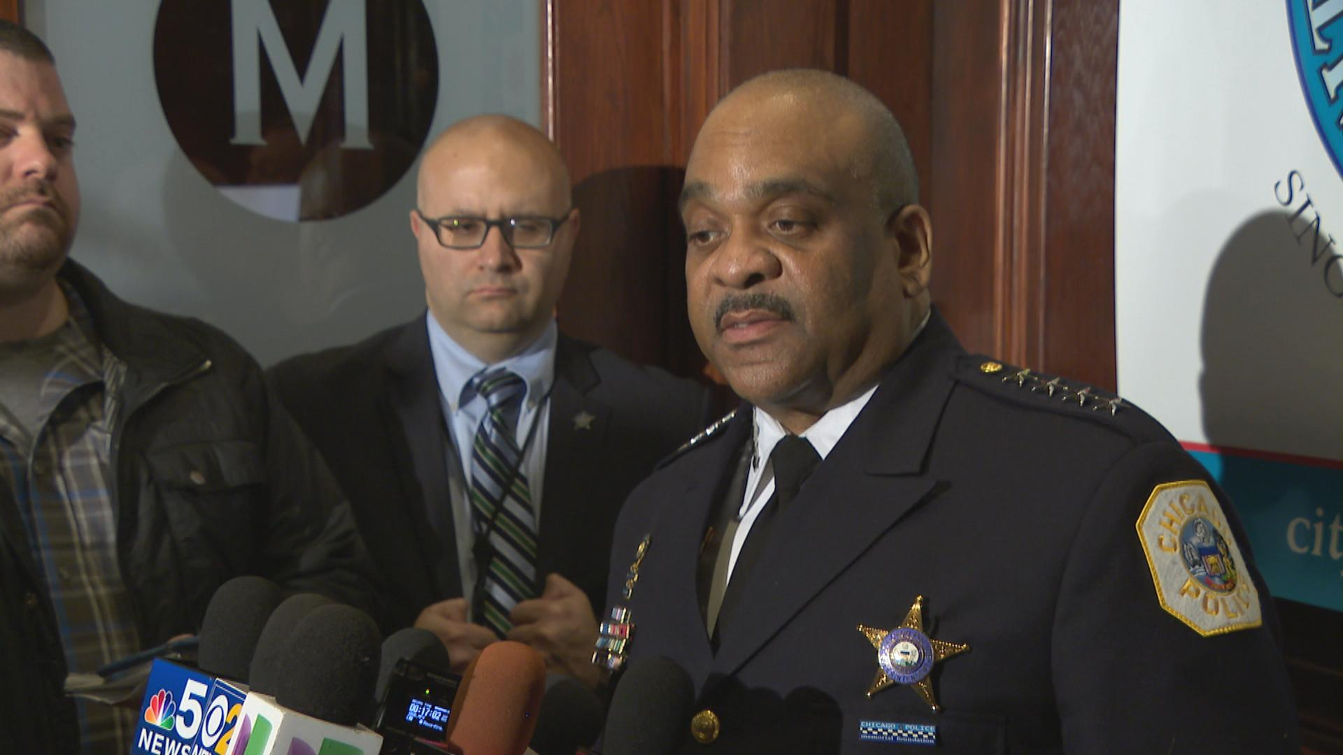 """We recognize that some people may be misidentified,"" Chicago Police Superintendent Eddie Johnson said."