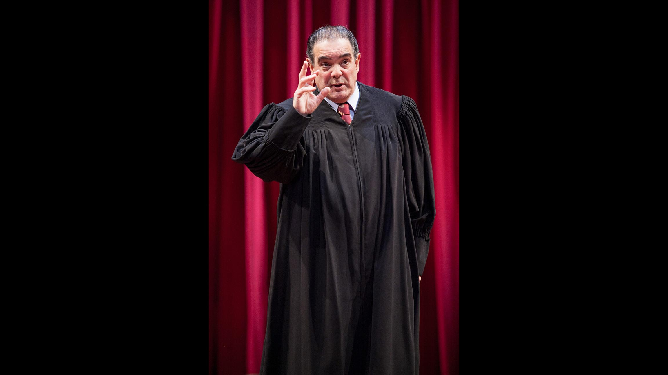 Edward Gero as Associate Justice Antonin Scalia (Photo by C Stanley Photography)
