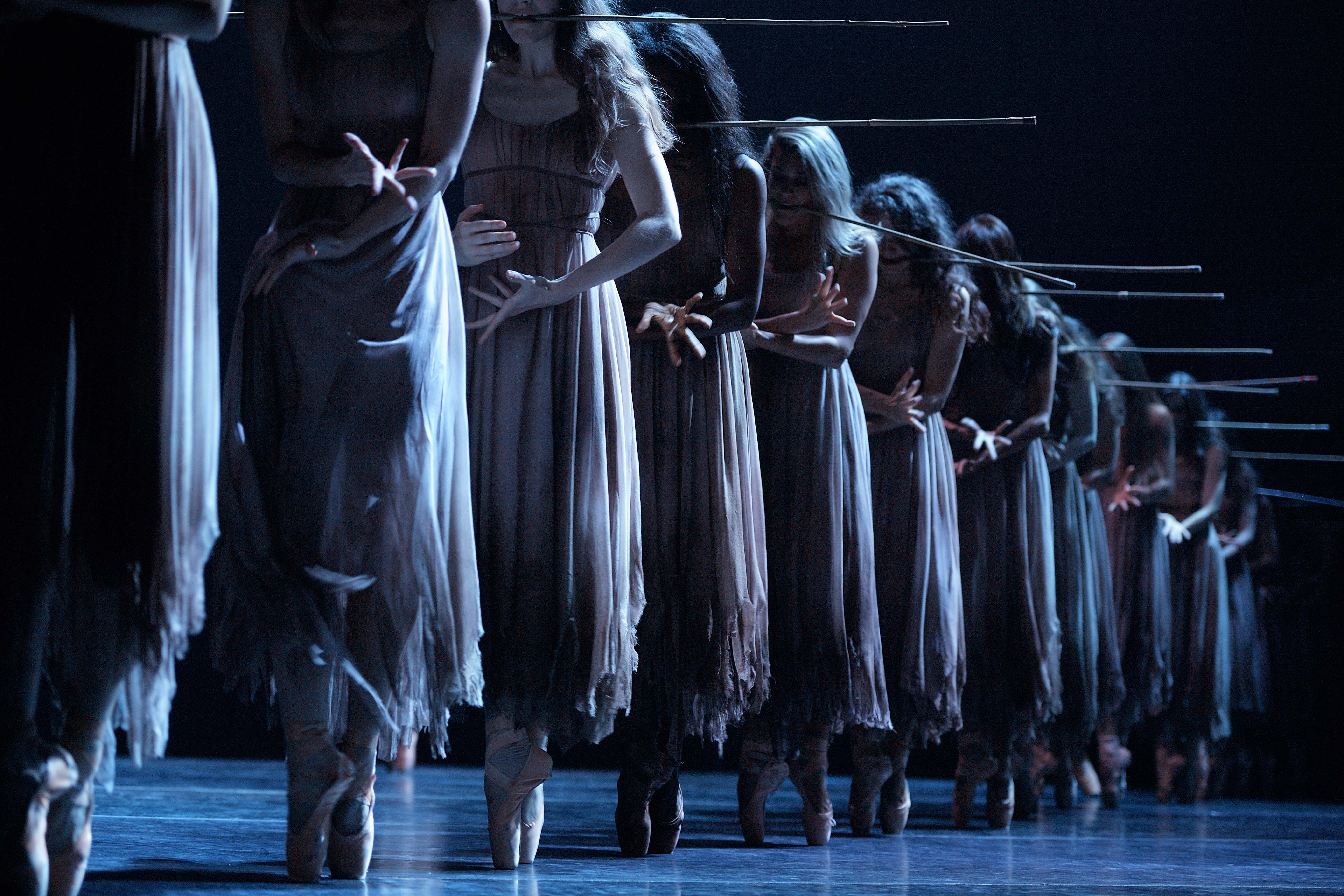 "English National Ballet in Akram Kham's ""Giselle."" (© Laurent Liotardo)"