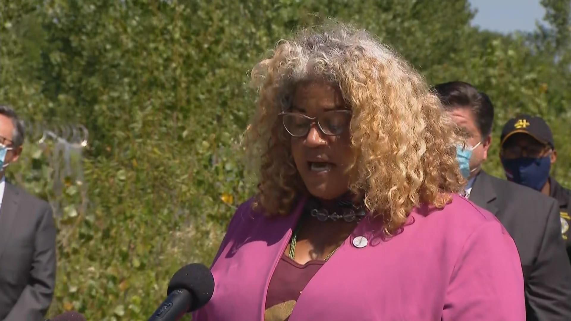 Erika Allen, a leader in Chicago's urban agriculture movement, has been the driving force behind Auburn Gresham's Green Era campus. (WTTW News)