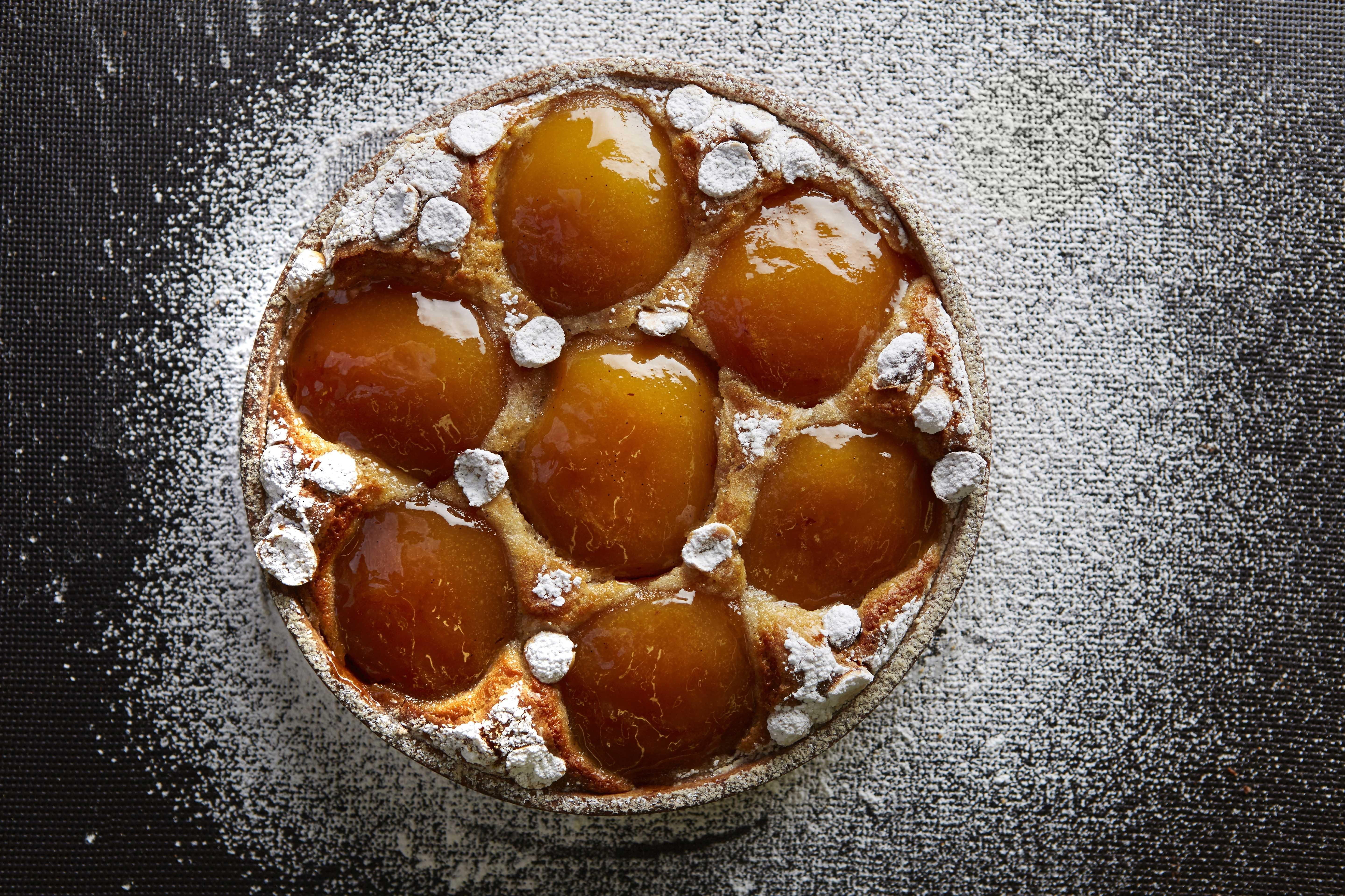 Recipe: Cider-Infused Caramelized Apple Tart with Grapefruit Jam