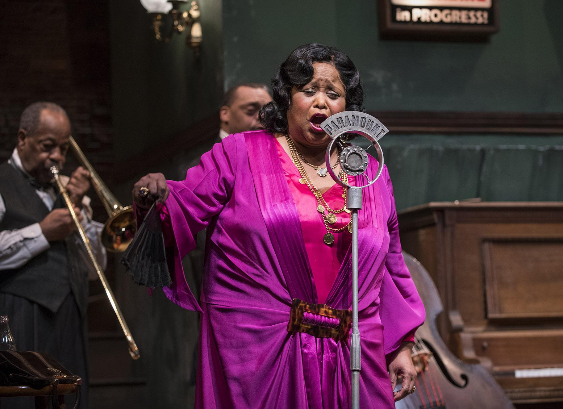 "Felicia P. Fields in ""Ma Rainey's Black Bottom"" (Photo credit: Michael Brosilow)"
