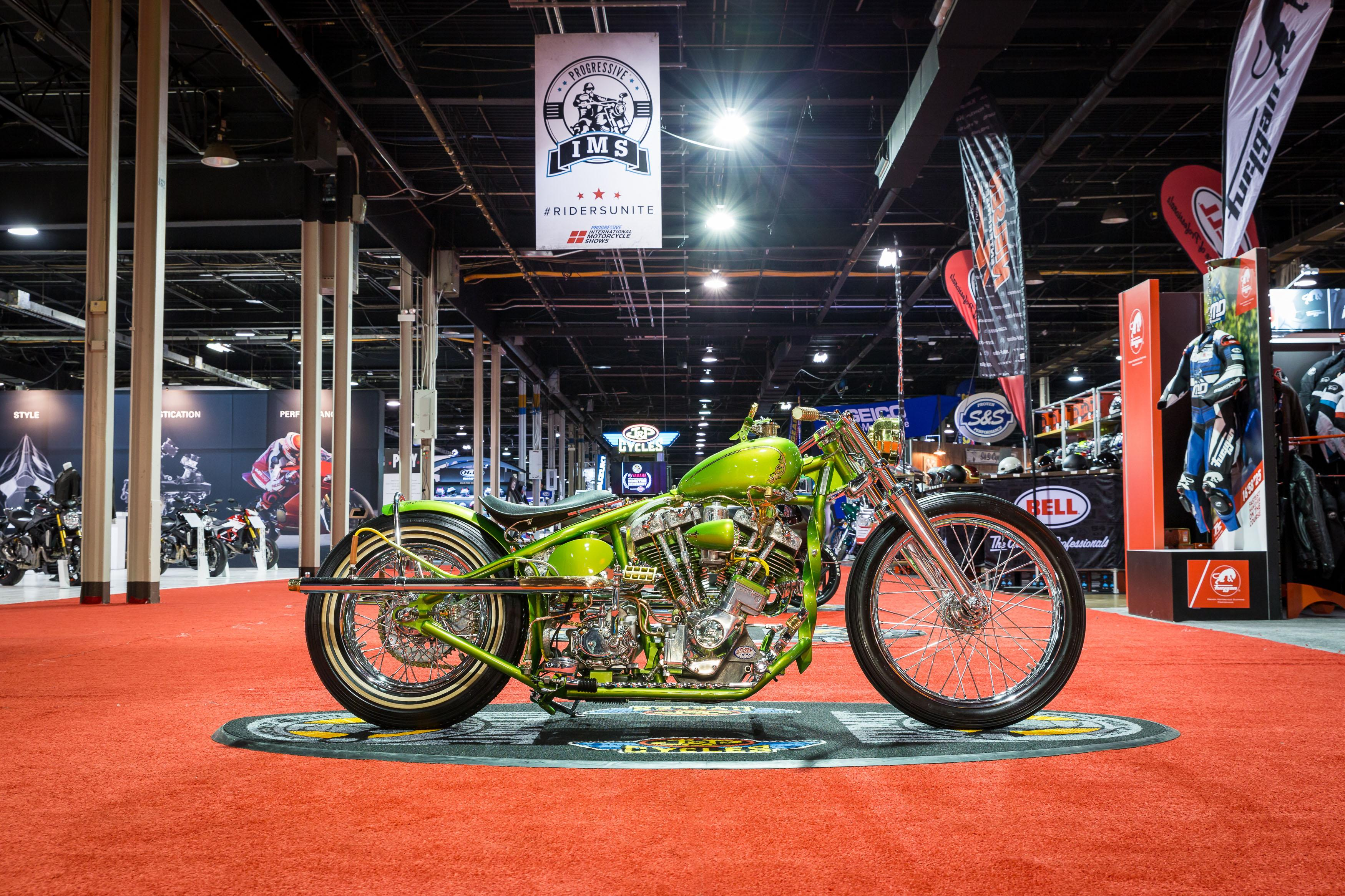 (Images copyright and courtesy of the Progressive® International Motorcycle Shows®. Photograph by Manny Pandya.)