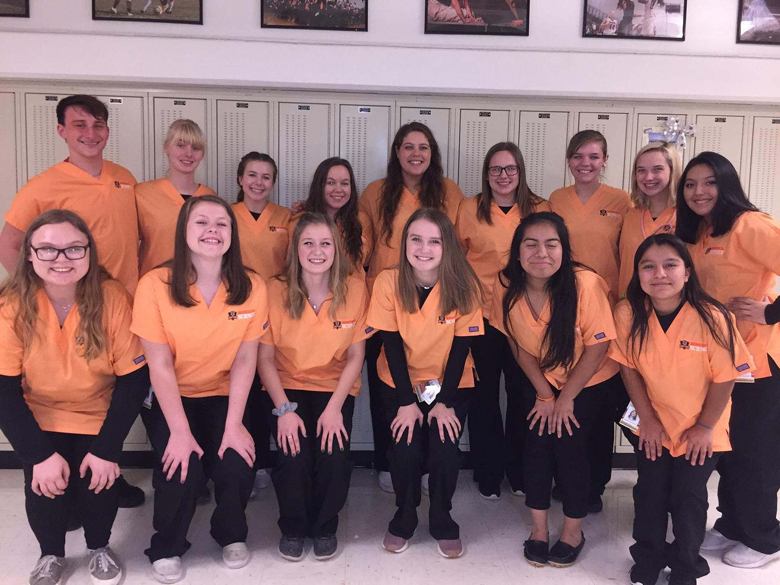 McHenry High School youth residency program participants (Courtesy of Laura Dziubinski / McHenry High School District 156)