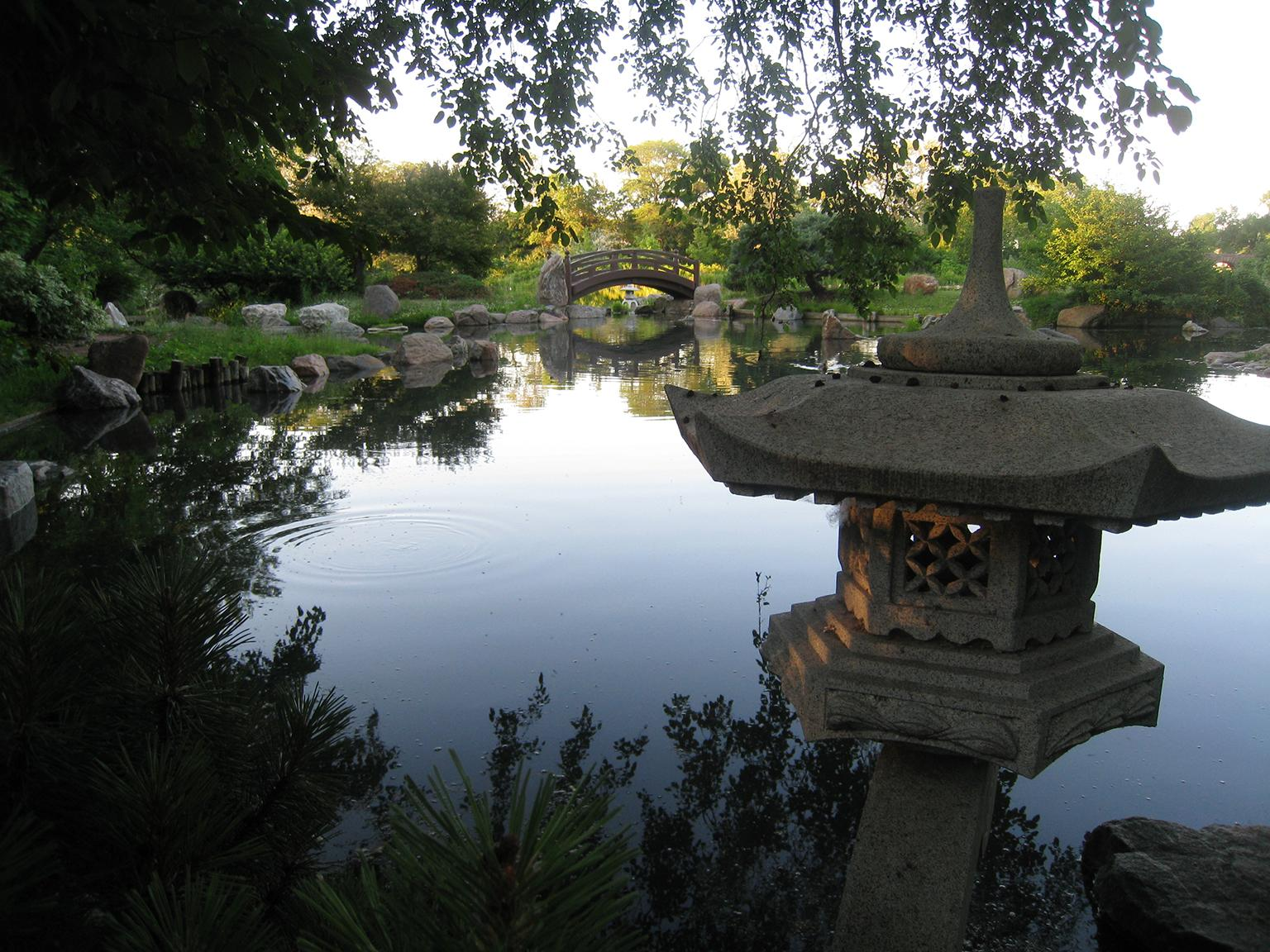 The Garden of the Phoenix in Jackson Park (Urbanrules / Wikimedia Commons)
