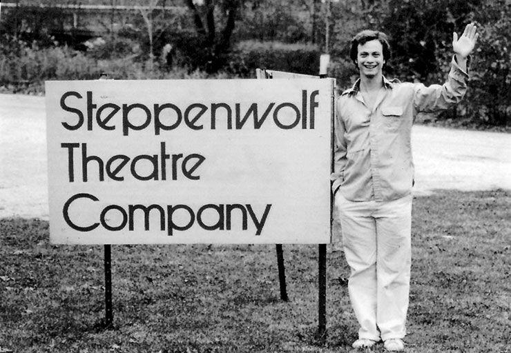 Gary Sinise was one of the cofounders of Steppenwolf Theatre in 1974.