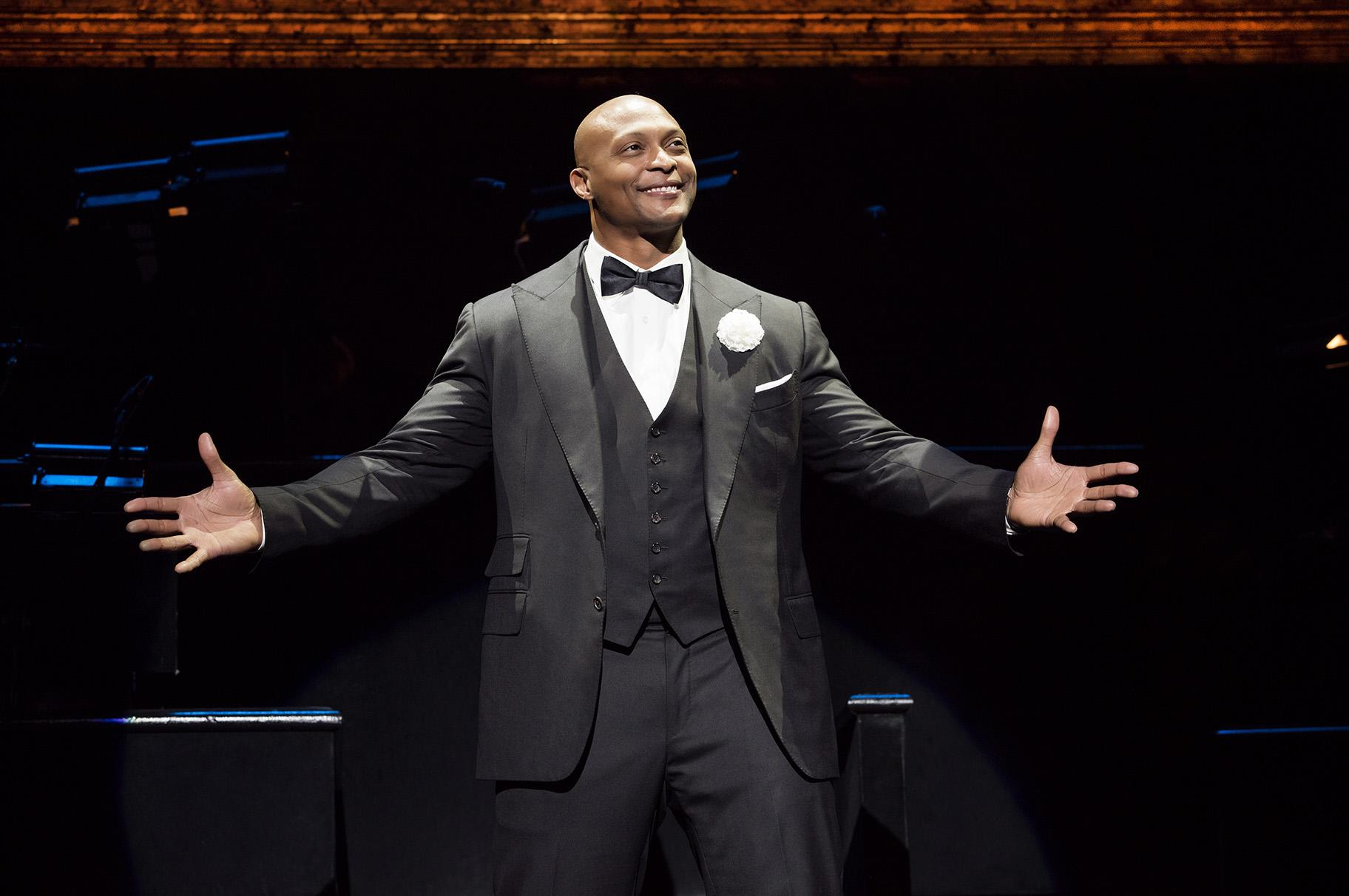 "Eddie George in ""Chicago, The Musical"" (Photo credit: Jeremy Daniel)"