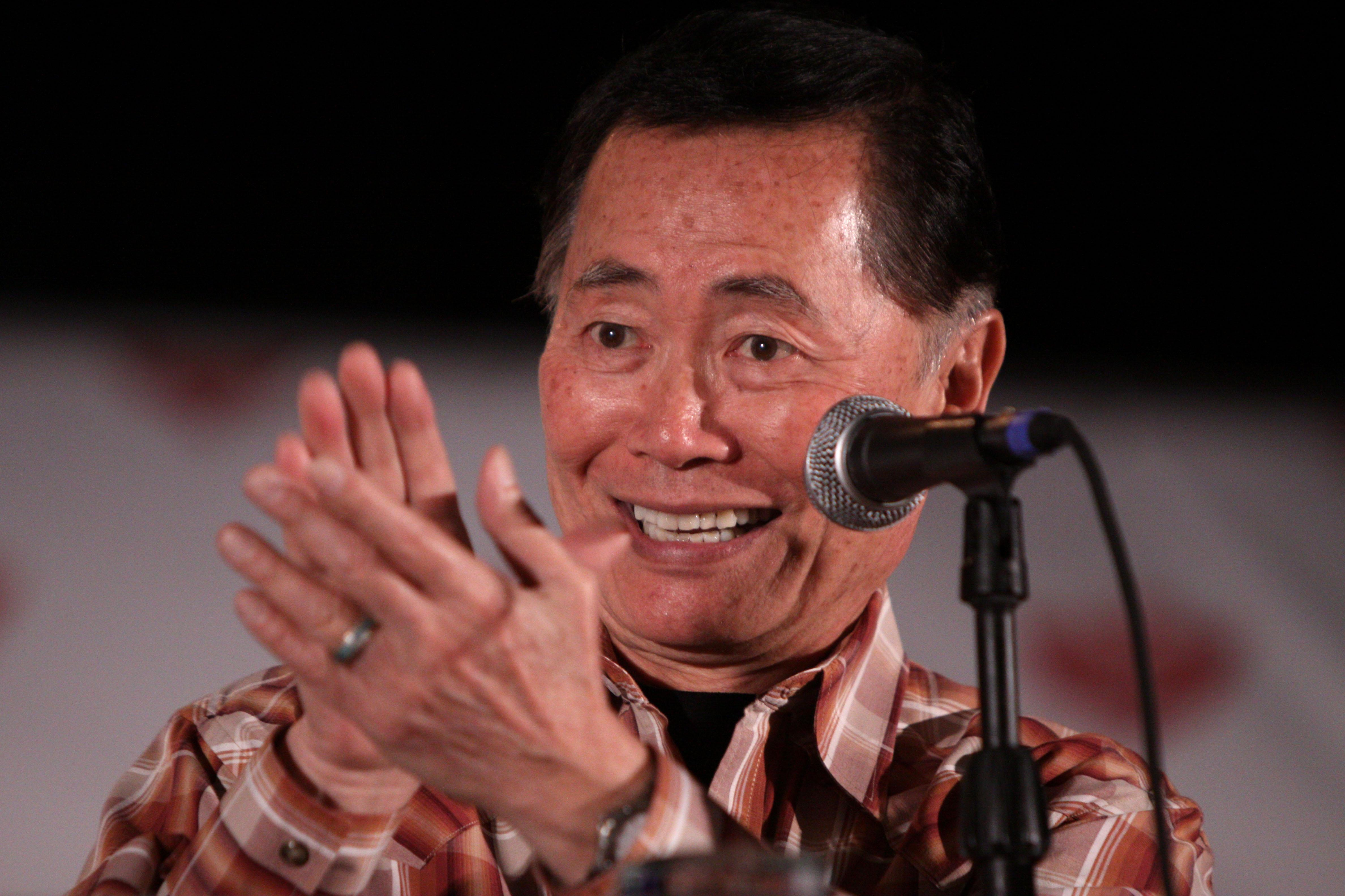 George Takei (Gage Skidmore / Wikimedia Commons)