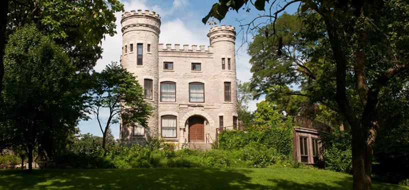 The Givins Castle in Beverly is one of the many architectural icons you can see during Open House Chicago. (Beverly Unitarian Church / Facebook)