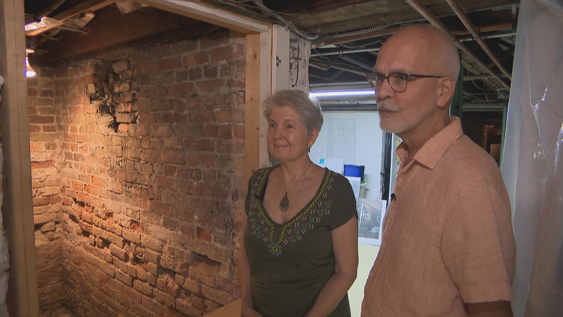 Could this strange brick room in Old Irving Park have been a station along the Underground Railroad more than 160 years ago?