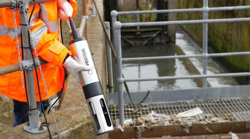 A sensor for measuring water quality developed by RS Hydro (Courtesy RS Hydro)