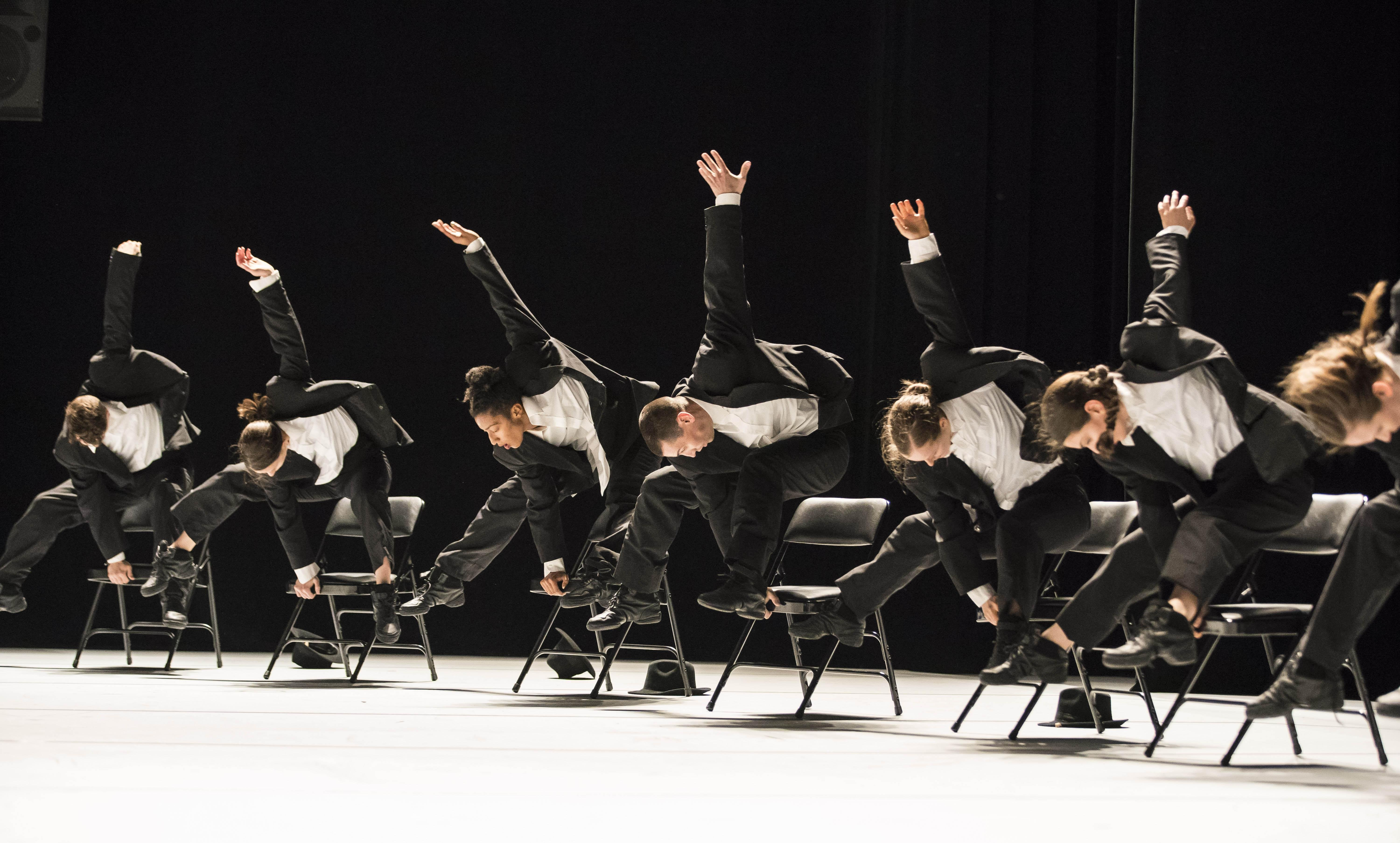 "Hubbard Street Dance Chicago in ""Decadance/Chicago"" by Ohad Naharin. (Photo by Todd Rosenberg)"