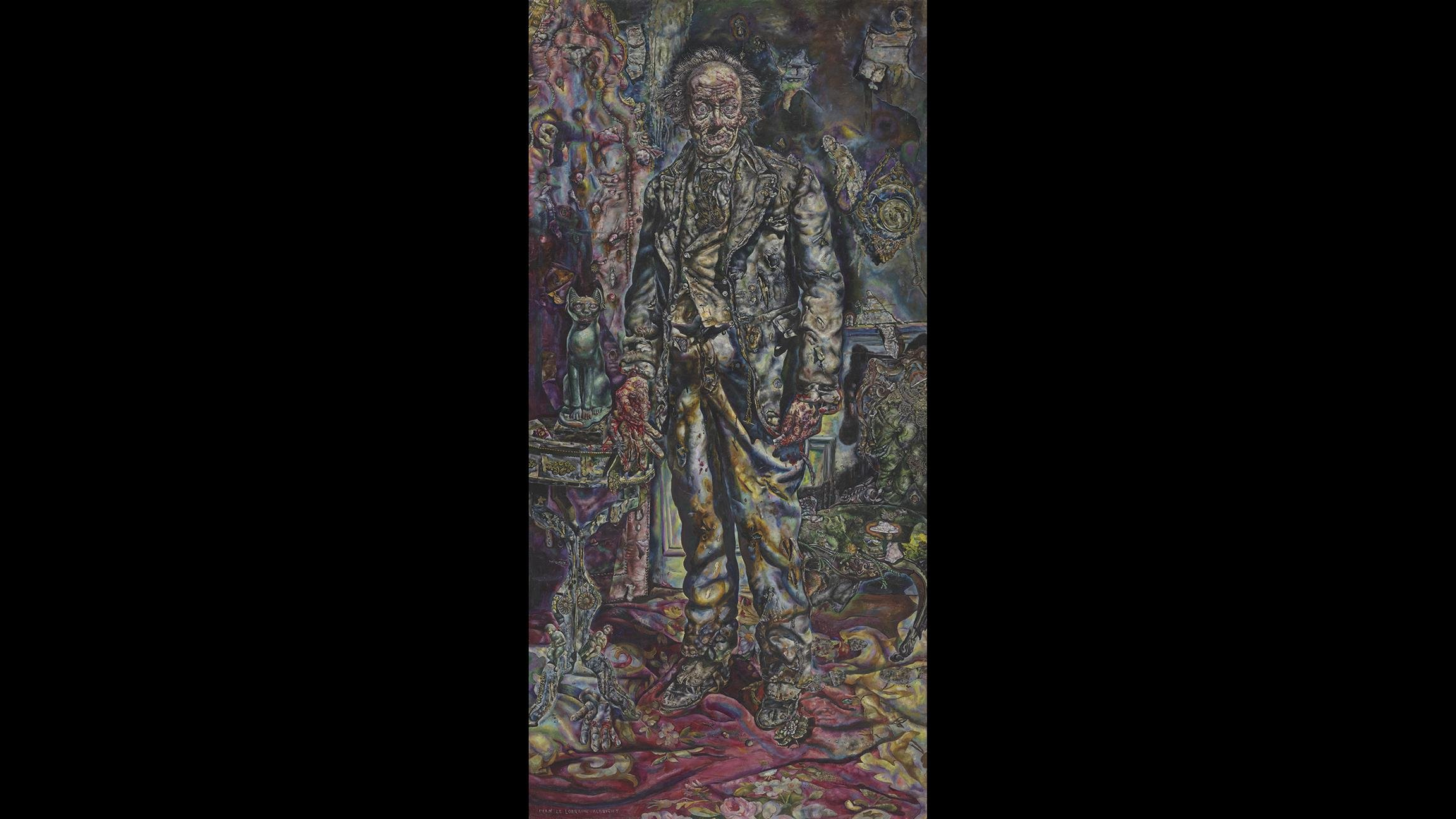 "Ivan Albright. ""Picture of Dorian Gray,"" 1943-'44. Gift of Ivan Albright. (© The Art Institute of Chicago)"