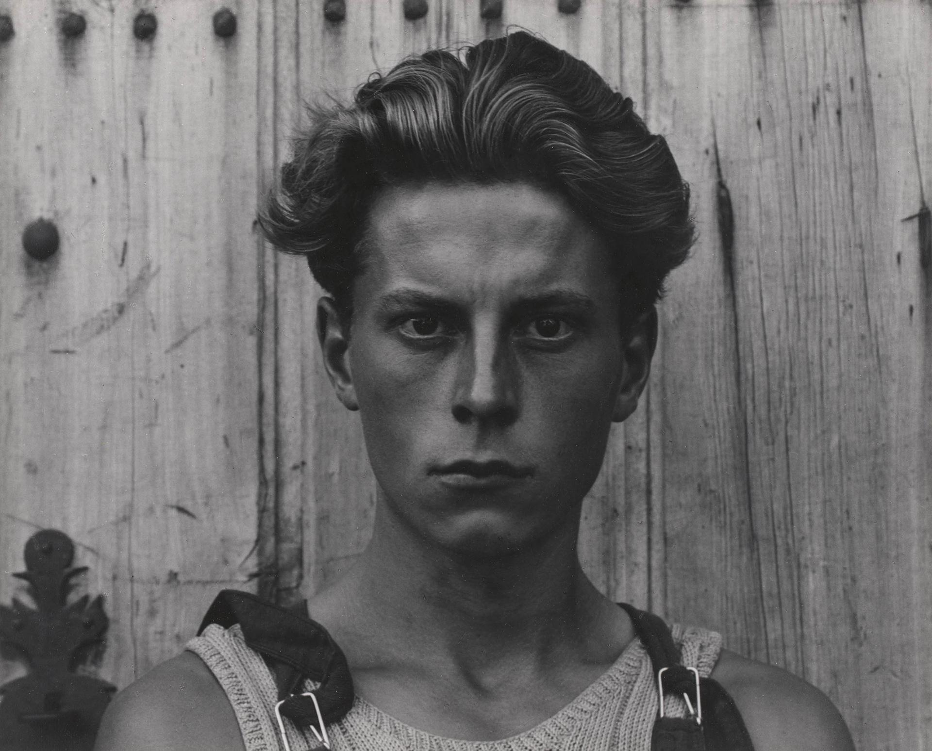 Paul Strand. Young Boy, Gondeville, Charente, France, 1951. Collection of Robin and Sandy Stuart. © Aperture Foundation, Inc. Paul Strand Archive.