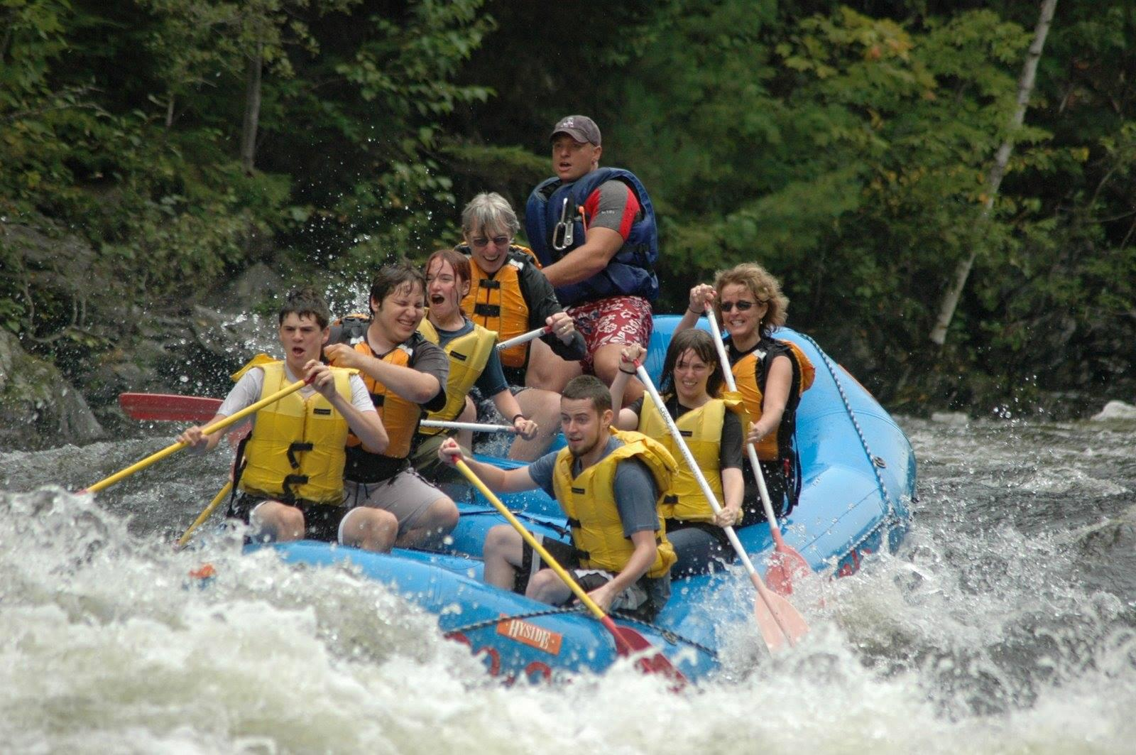 Rafting on the Vermillion River (Mahmoud Ali / Facebook)
