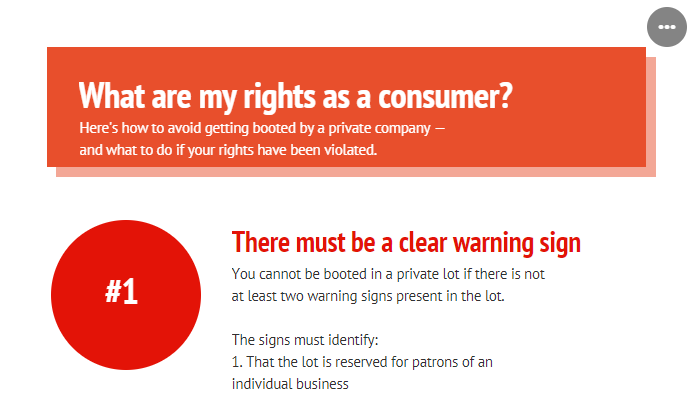 Graphic: Know your rights as a consumer.