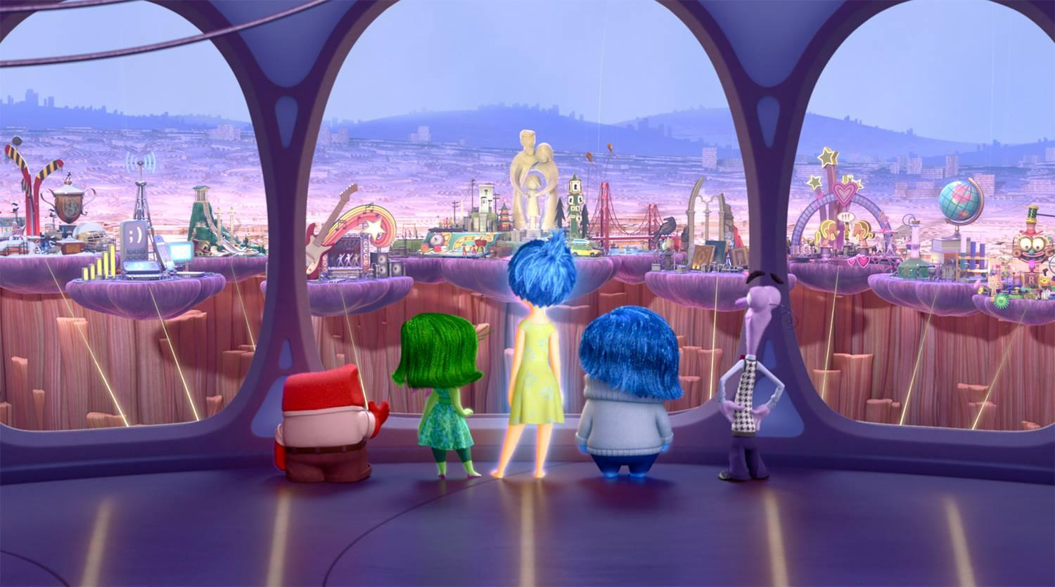 """Inside Out,"" starring Amy Poehler and Phyllis Smith, is scheduled to be shown Monday, Aug. 5 in Millennium Park. (Inside Out / Facebook)"