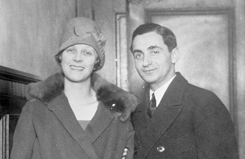 Irving Berlin and wife Ellen Mackay in the 1920s.