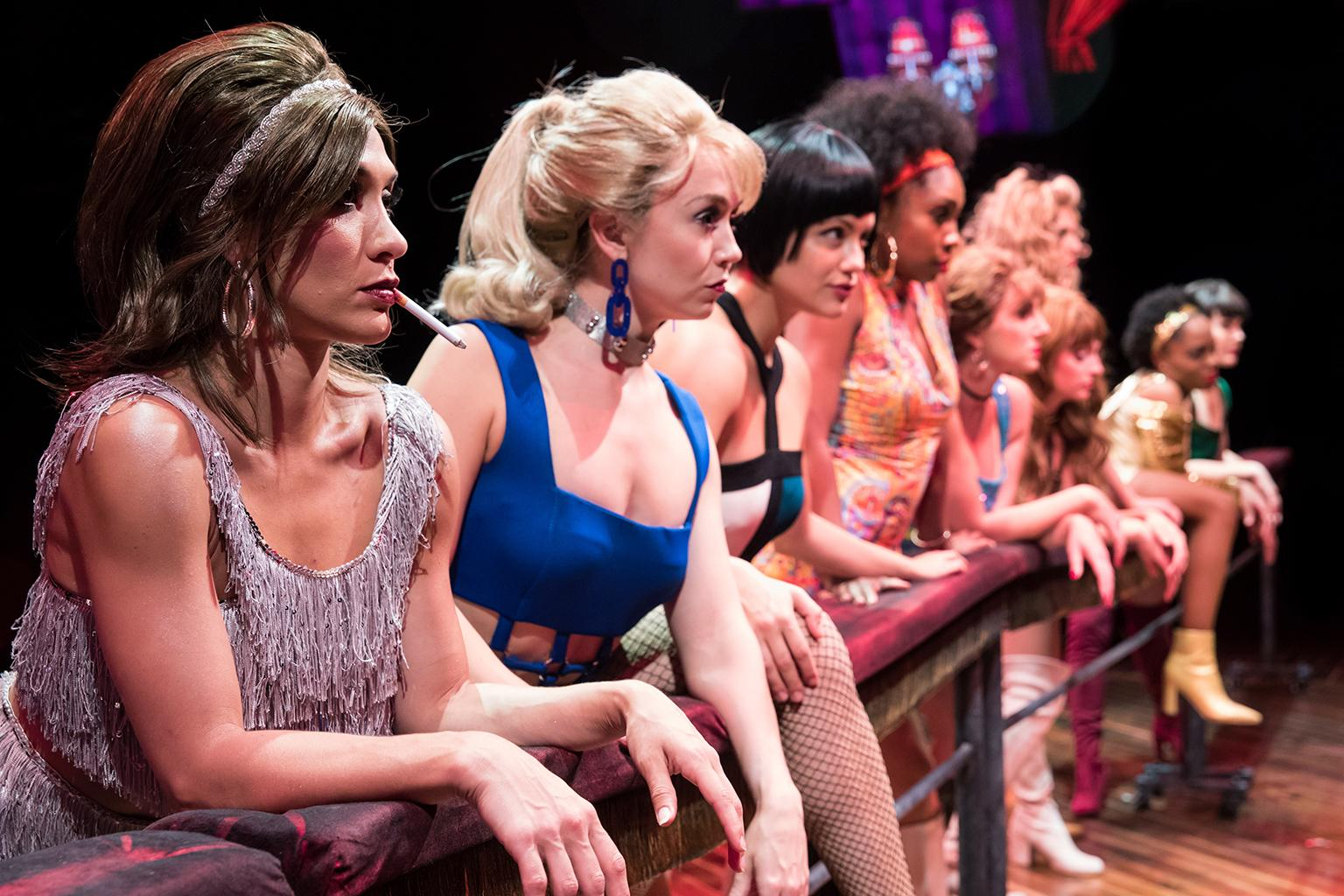 """Sweet Charity"" at Marriott Theatre (Photo by Justin Barbin)"