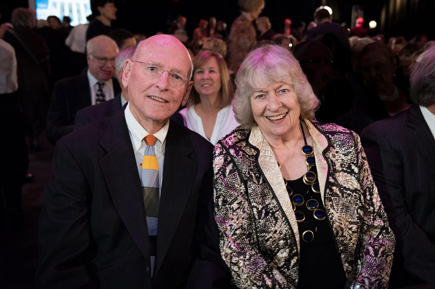 Jim and Kay Mabie in 2015. (WTTW)