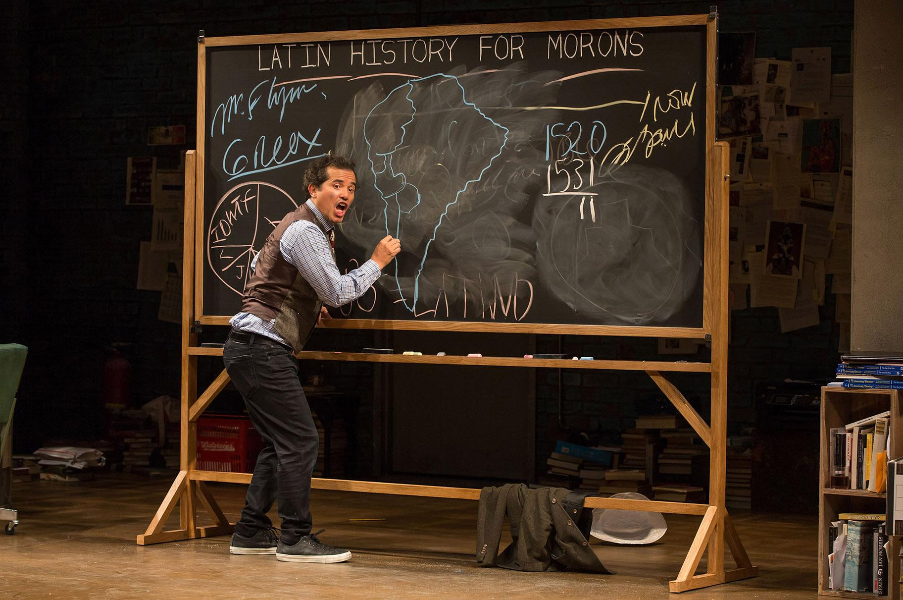 "John Leguizamo in ""Latin History for Morons."" (Photo by Matthew Murphy)"