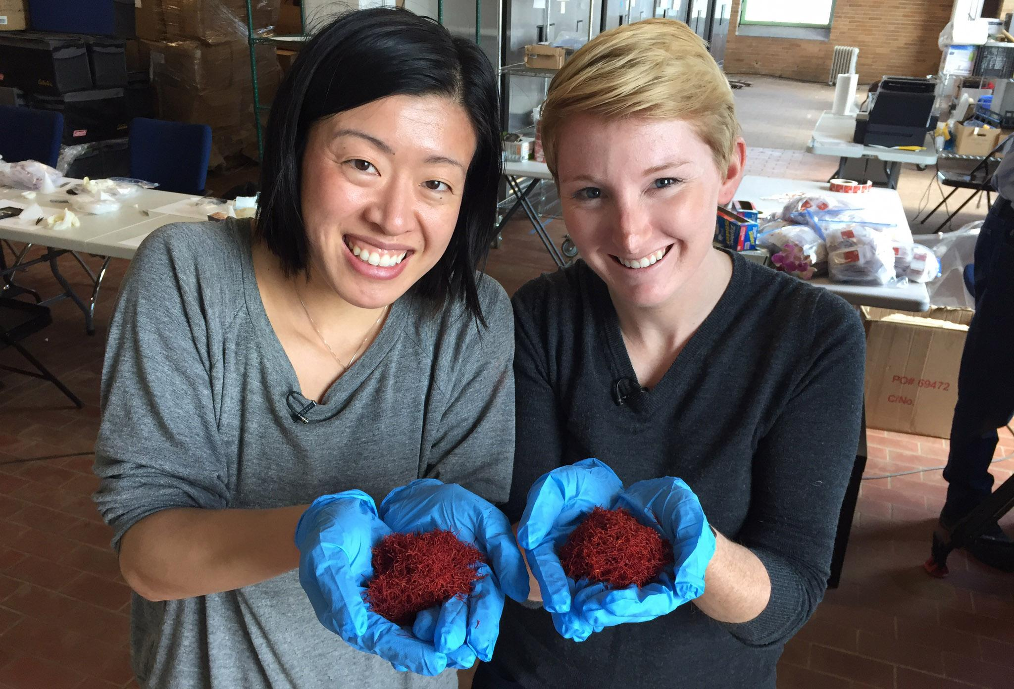 Kimberly Jung, left, and Emily Miller, founders of Rumi Spice.