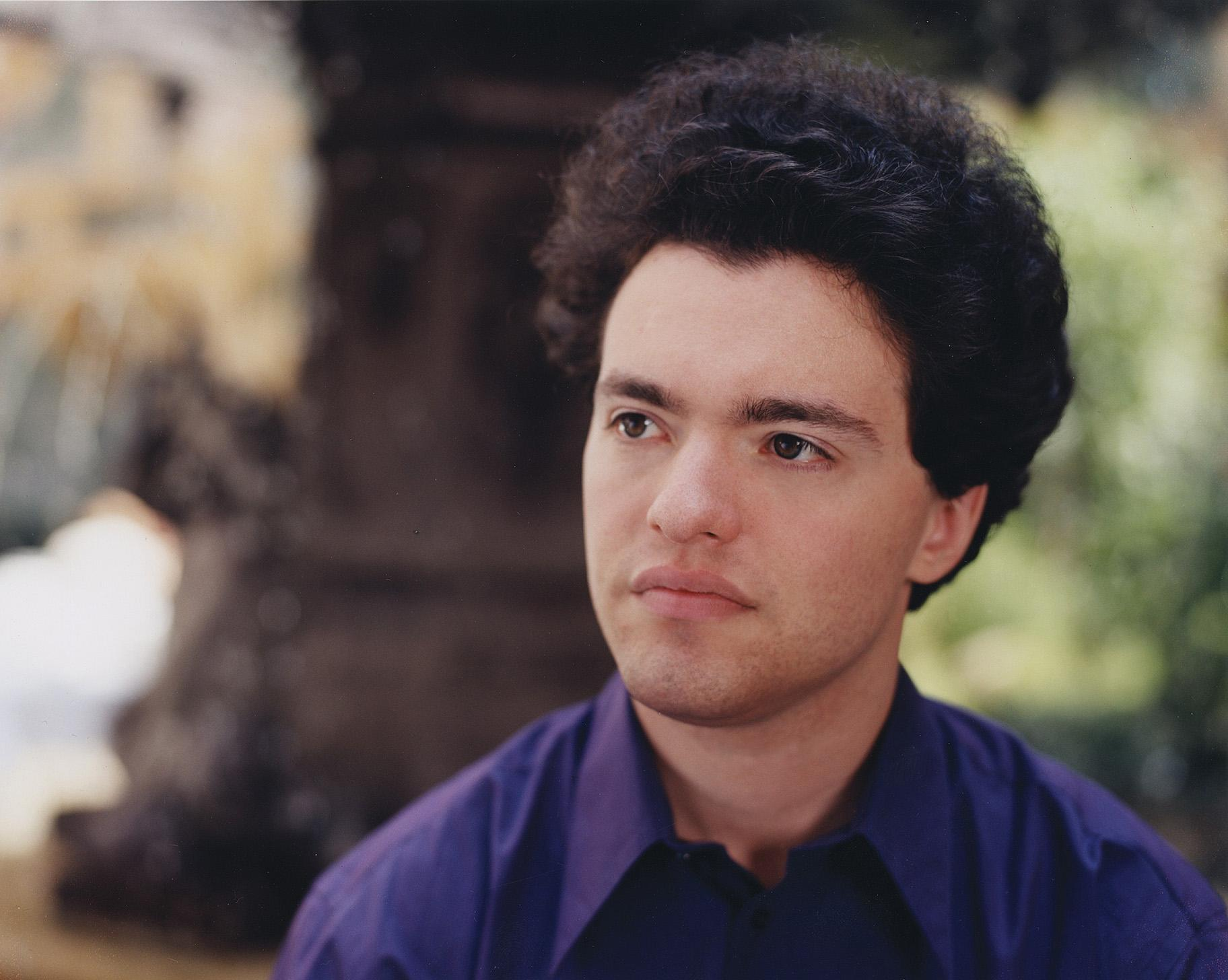 Pianist Evgeny Kissin. (Credit: Bette Marshall)