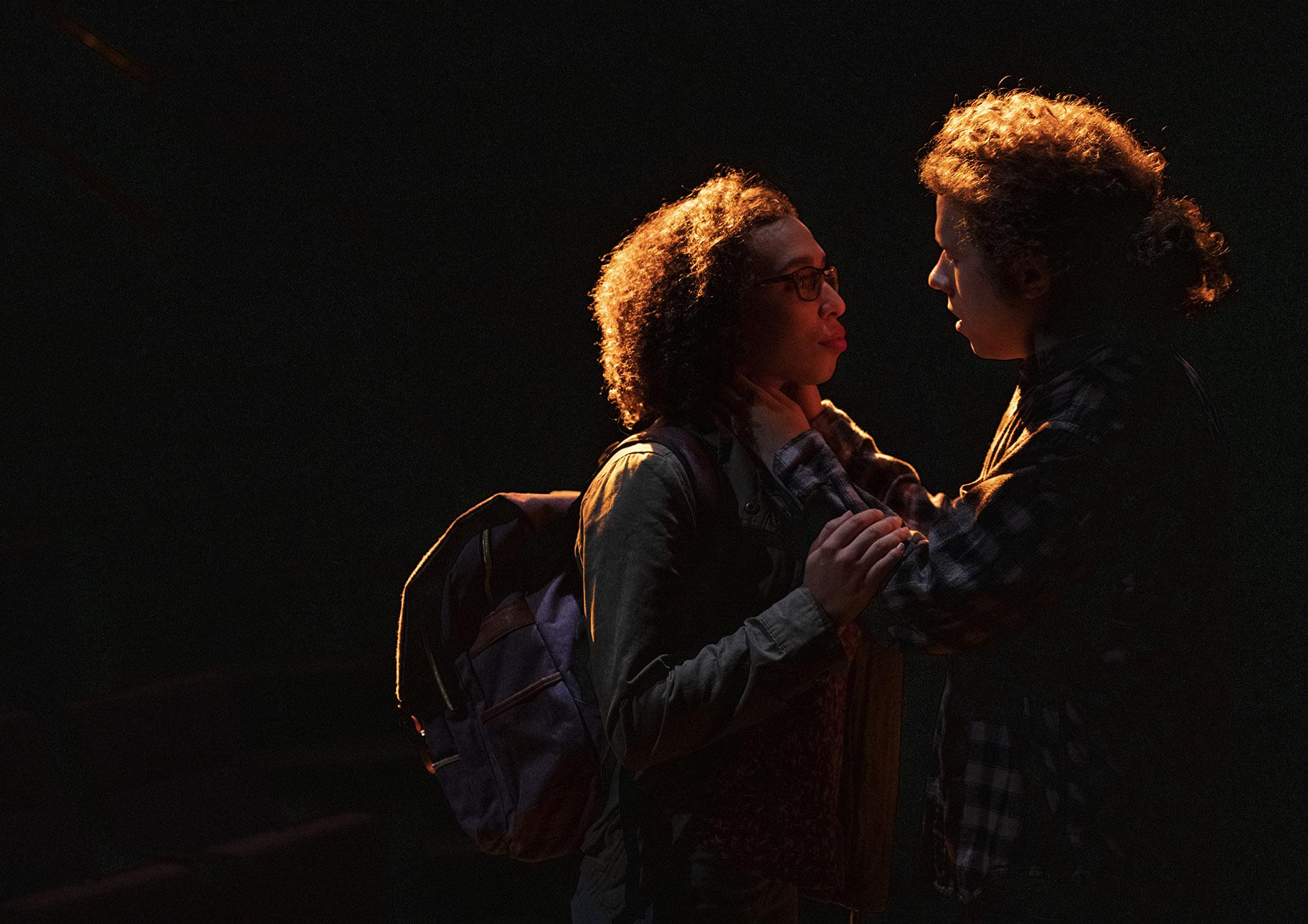 "Kyrie Courter and Alex Levy in ""Next to Normal."" (Photo credit: Michael Brosilow)"