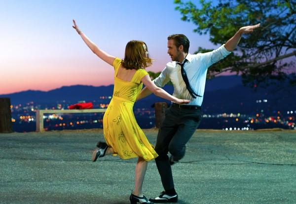 """La La Land,"" starring Ryan Gosling and Emma Stone, is scheduled to be shown Tuesday, July 18  in Millennium Park (Dale Robinette / Lionsgate)"