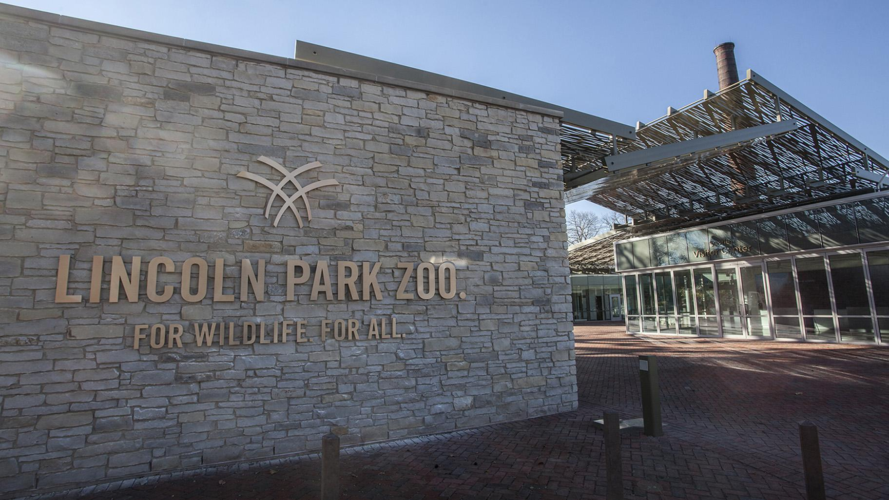 Lincoln Park Zoo's new Searle Visitor Center (Courtesy Lincoln Park Zoo)