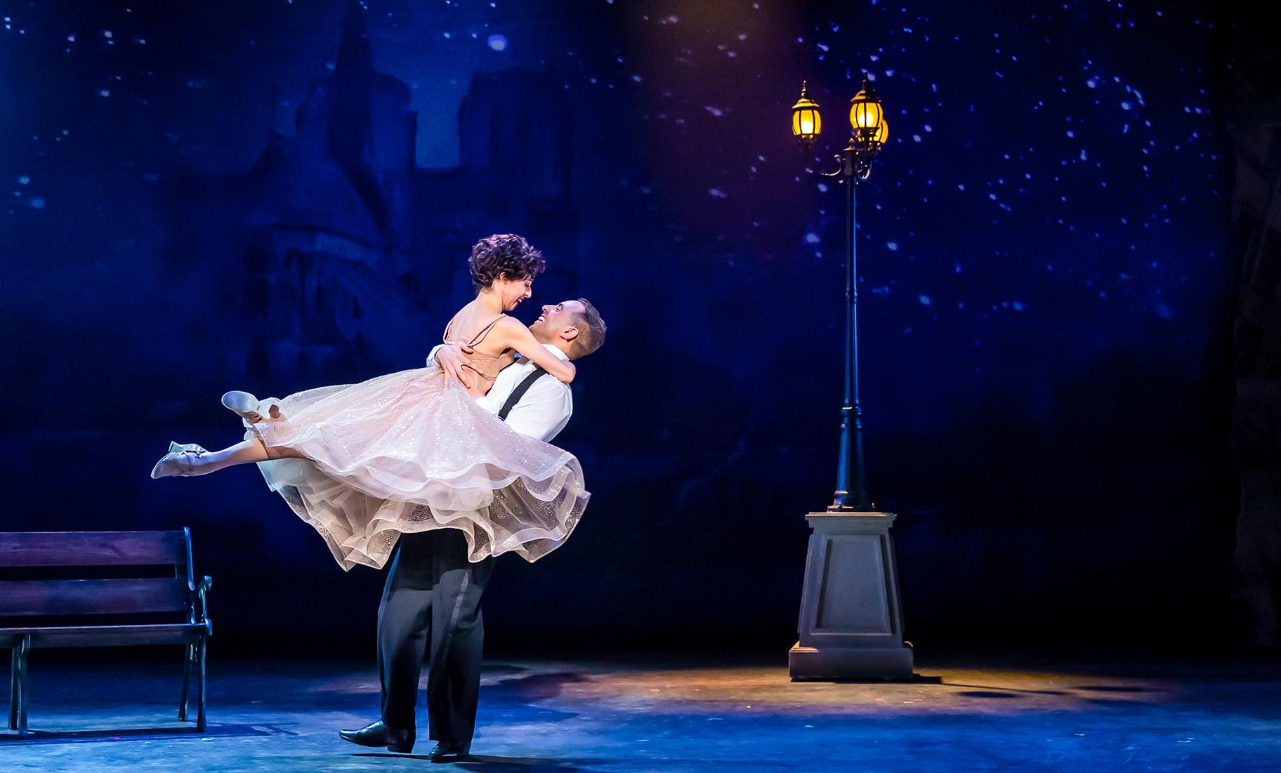 "Leigh-Ann Esty and Josh Drake, ""An American in Paris."" (Credit: Brett Beiner Photography)"
