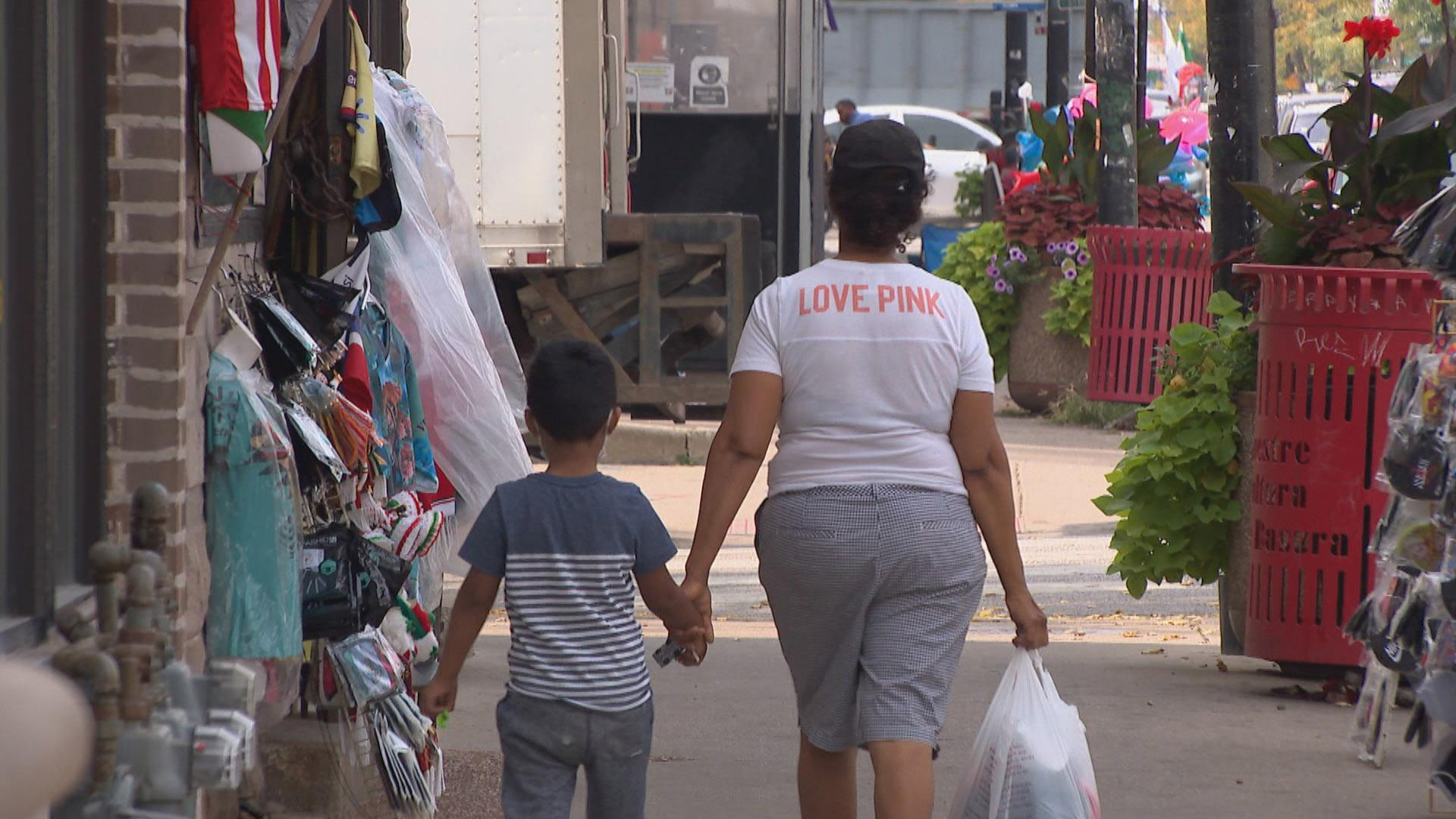 Chicago's Little Village neighborhood is described as a child care desert in a new University of Chicago study. (WTTW News)