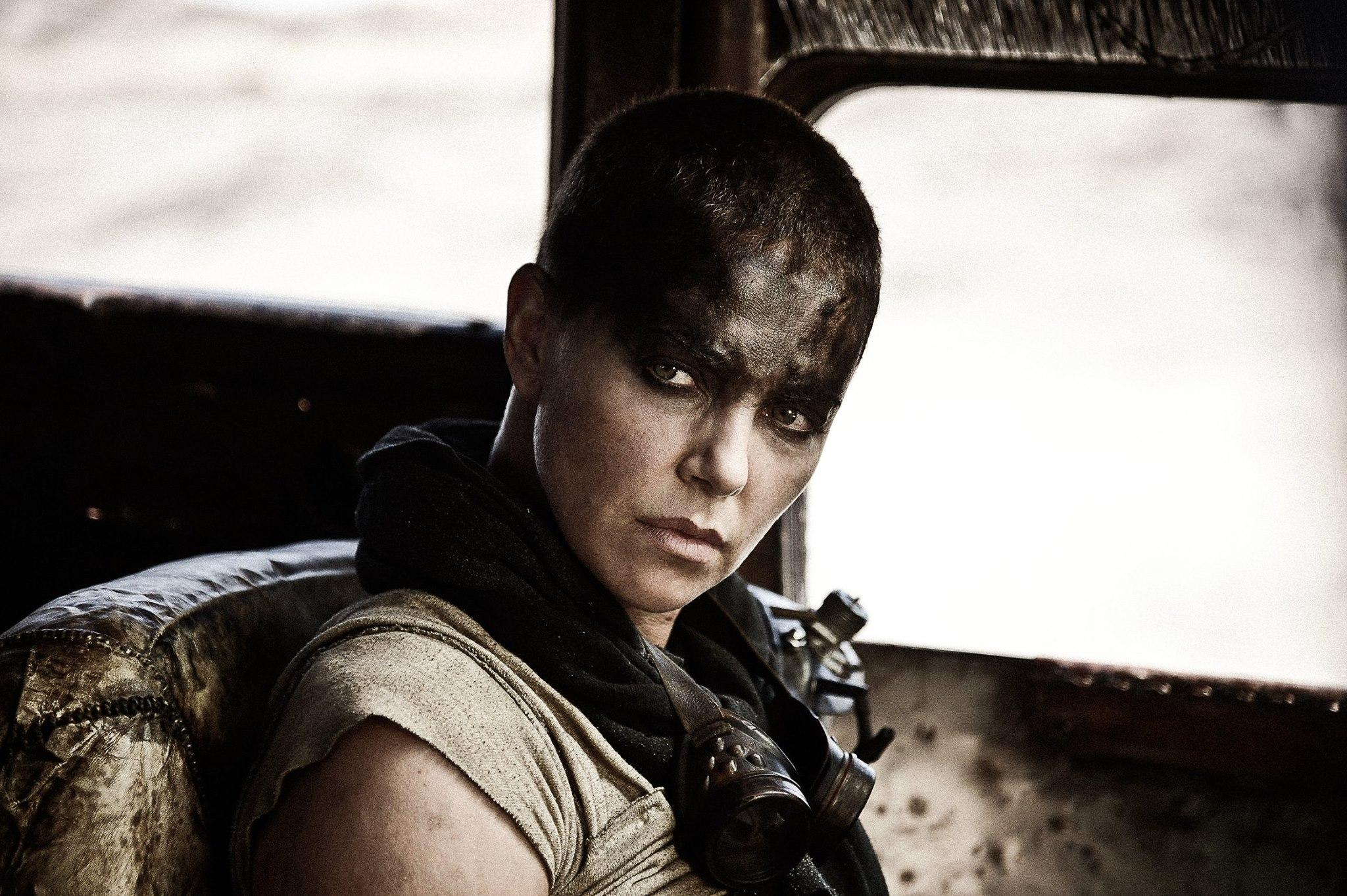 "Charlize Theron stars in the 2015 thriller ""Mad Max: Fury Road."" (Mad Max / Facebook)"