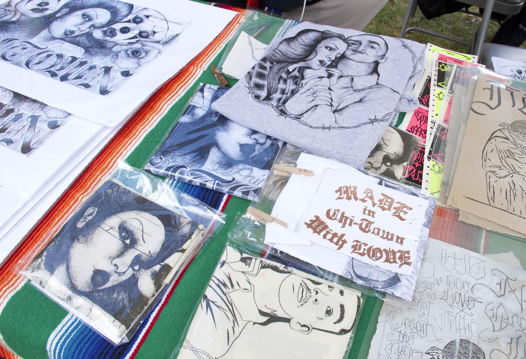 Artwork by Made in Chi-Town With Love. (Ariel Parrella-Aureli / WTTW News)